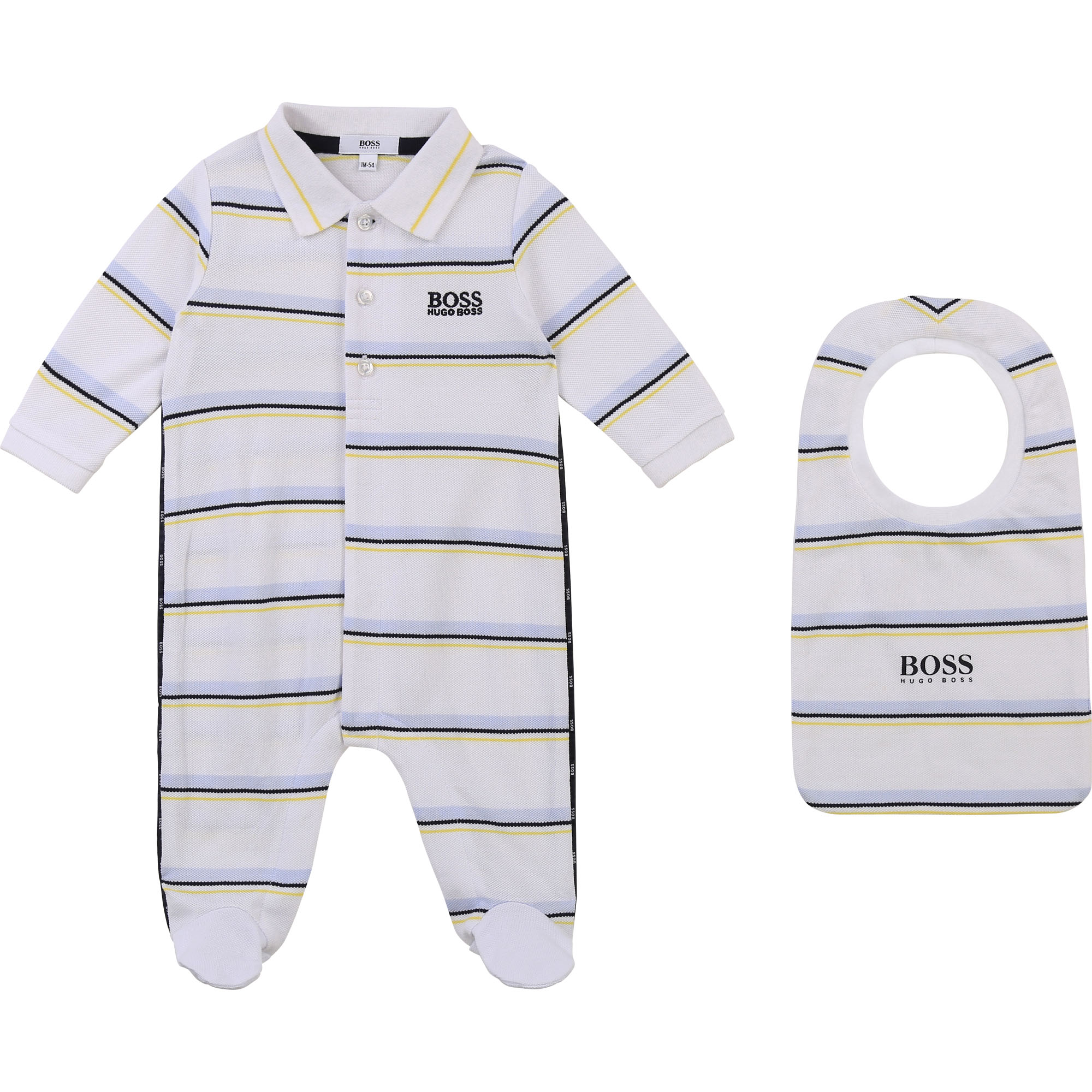 Ensemble pyjama et bavoir BOSS pour GARCON