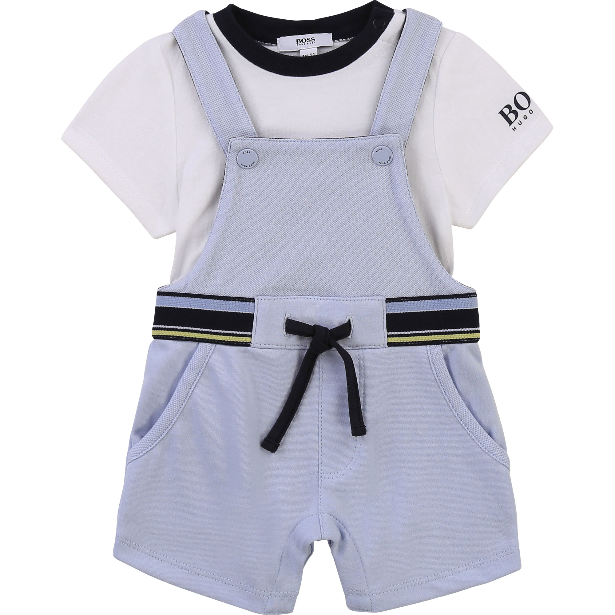 overalls and T-shirt set BOSS for BOY