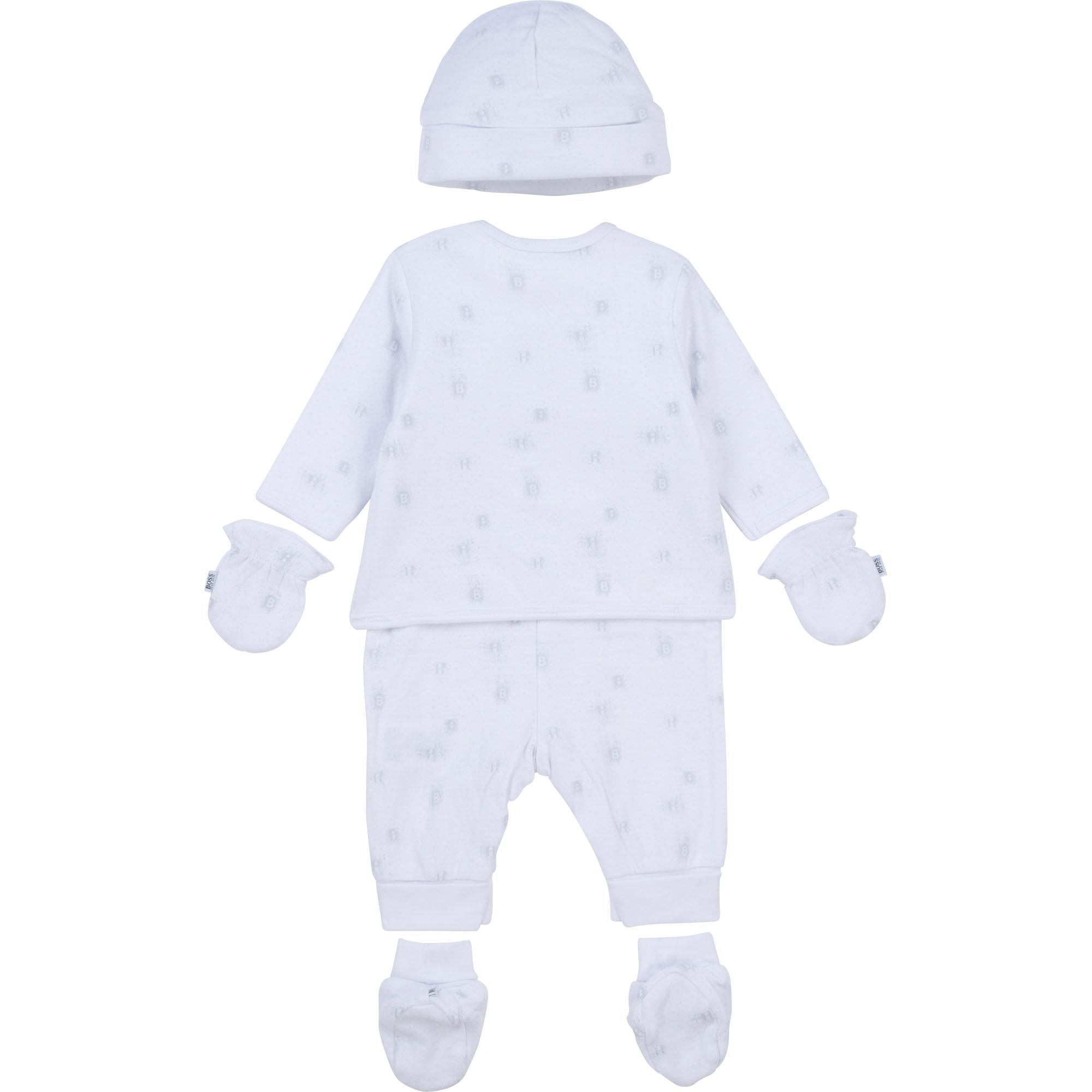 4-piece pajamas set BOSS for UNISEX