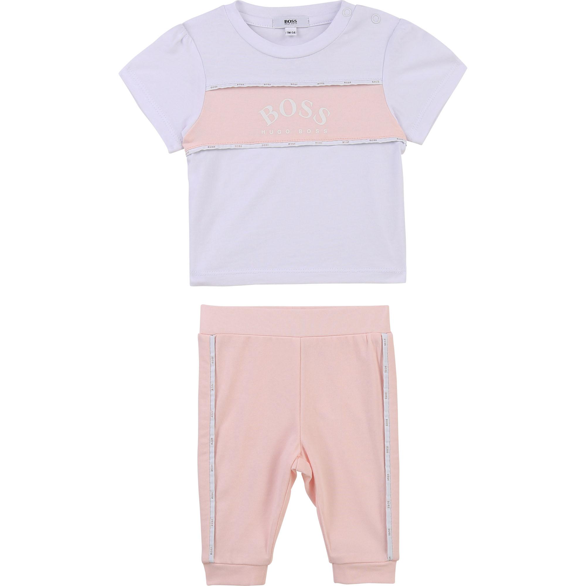 T-shirt and leggings set BOSS for GIRL