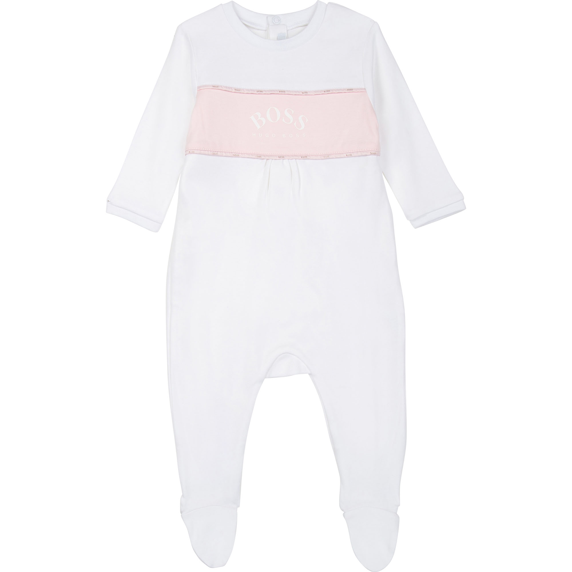 pajamas and bib set BOSS for GIRL