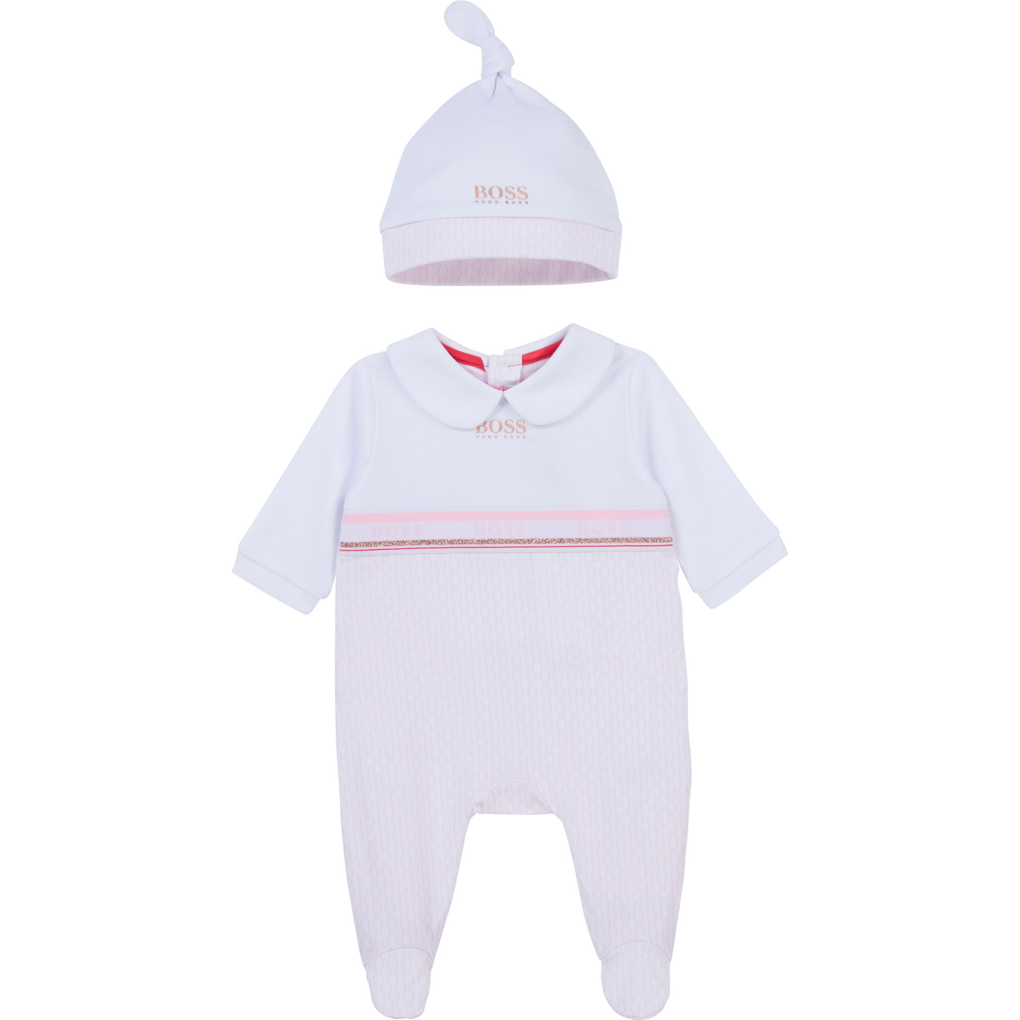 Ensemble pyjama + bonnet BOSS pour FILLE