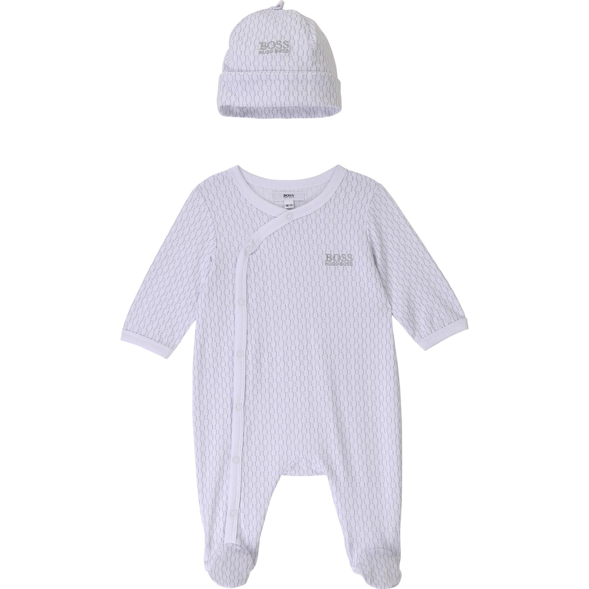 Ensemble pyjama bonnet jersey BOSS pour UNISEXE