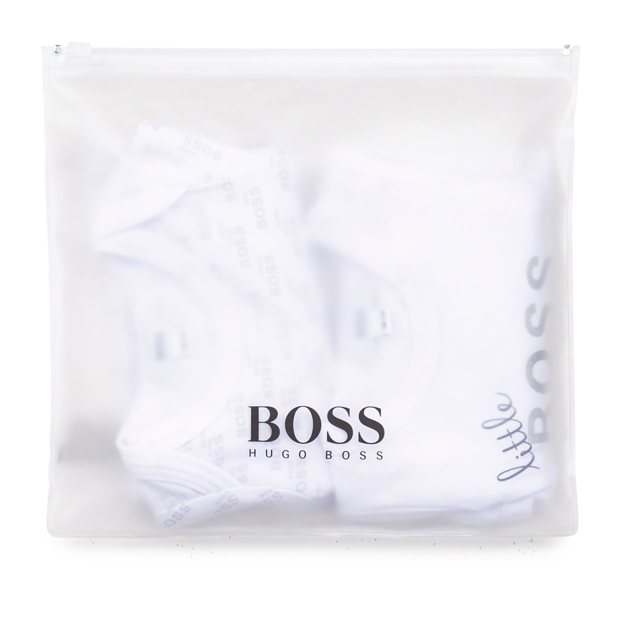 Pack of 2 cotton rompers BOSS for UNISEX