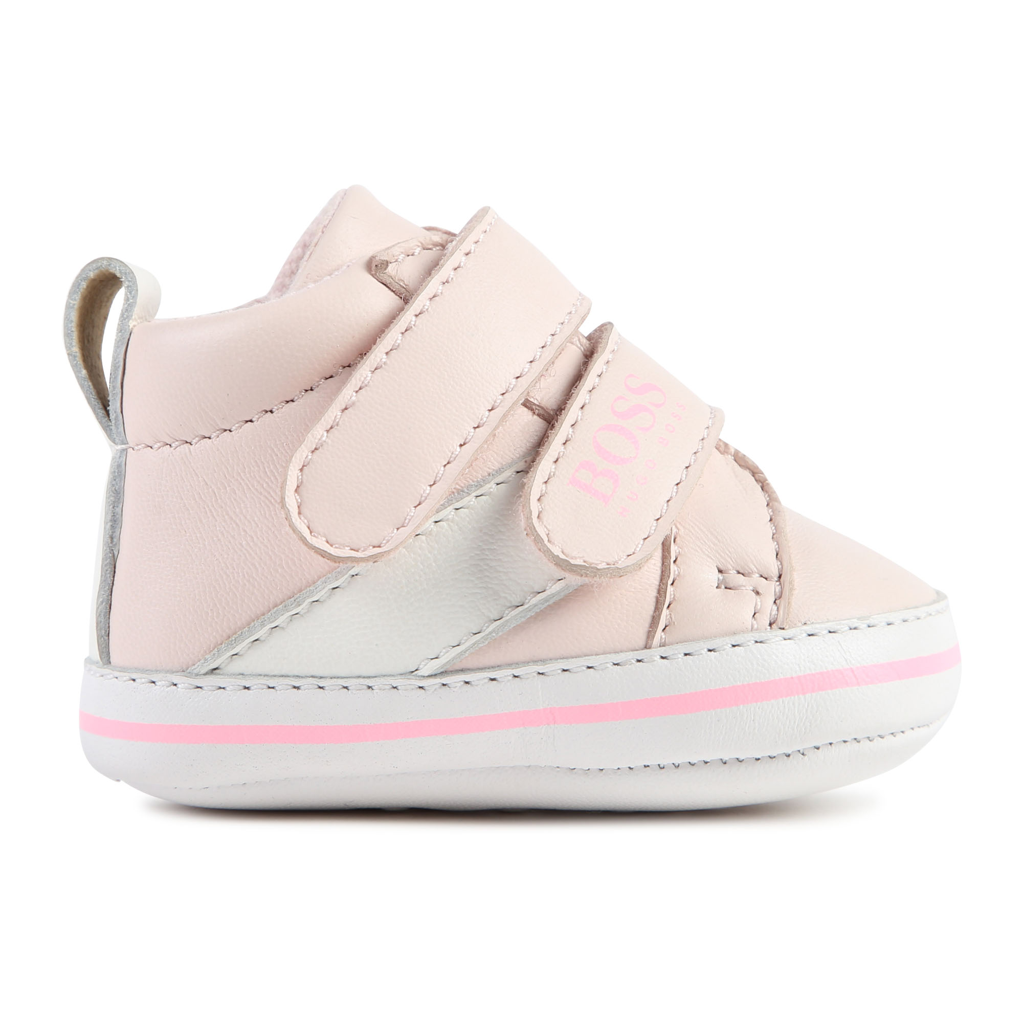 Leather high-top trainers BOSS for GIRL