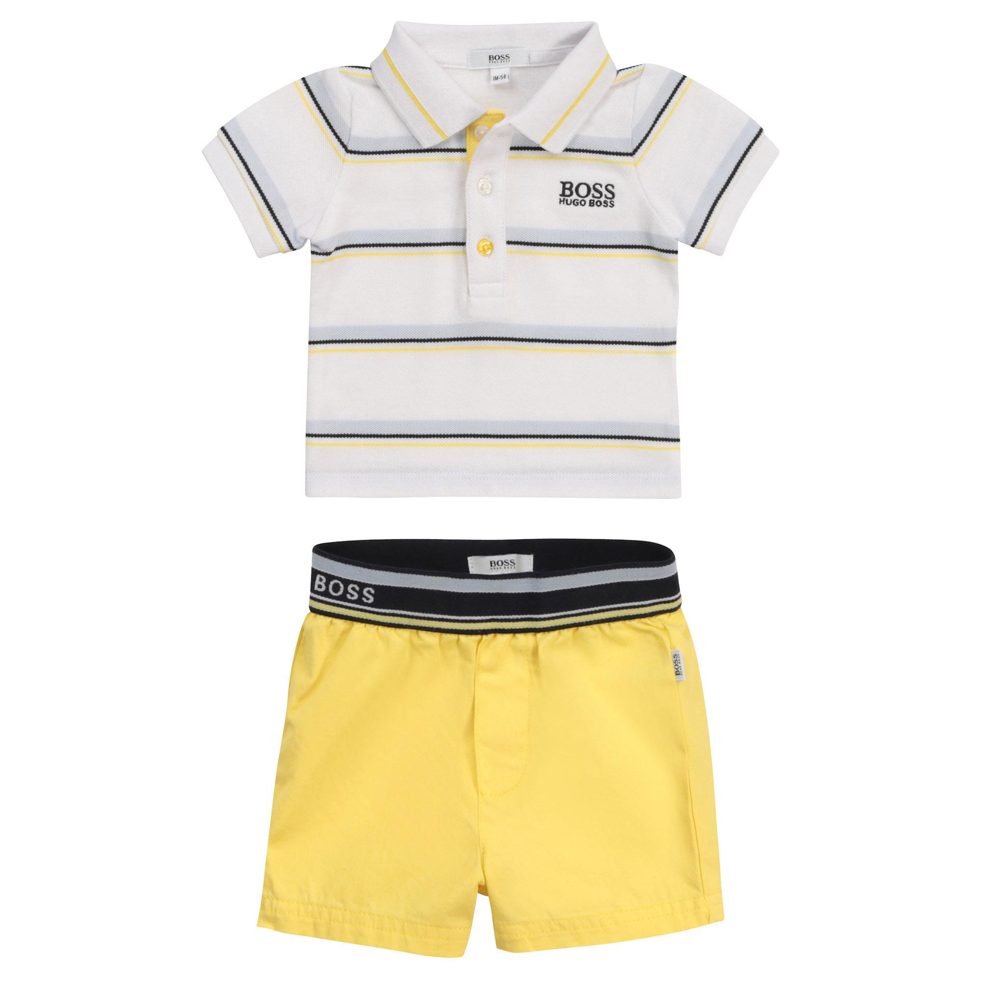 Polo + Bermuda shorts set BOSS for BOY