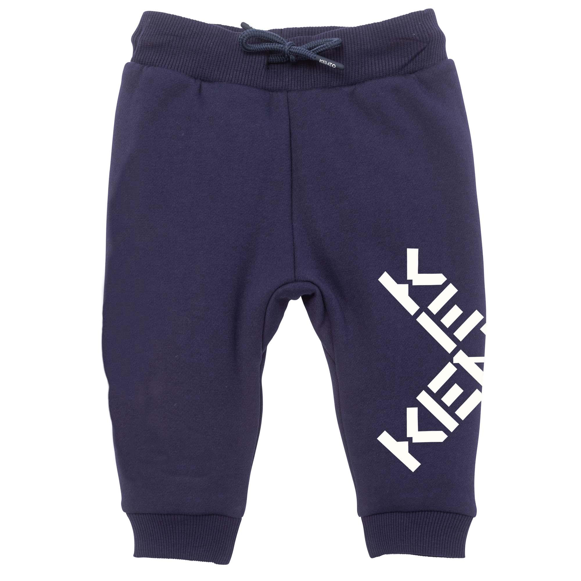 Fleece joggers KENZO KIDS for BOY