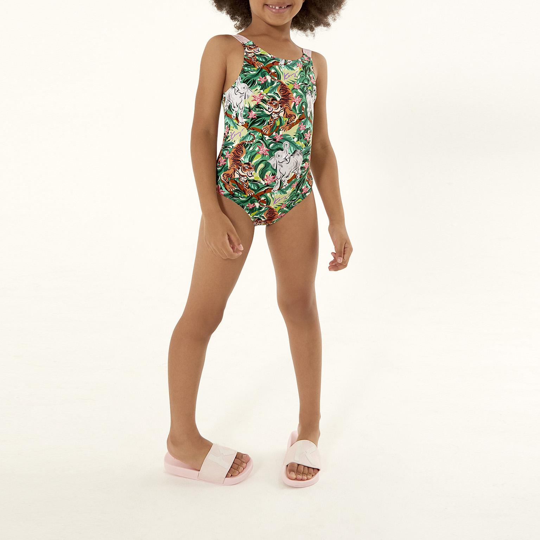 One-piece swimswuit KENZO KIDS for GIRL