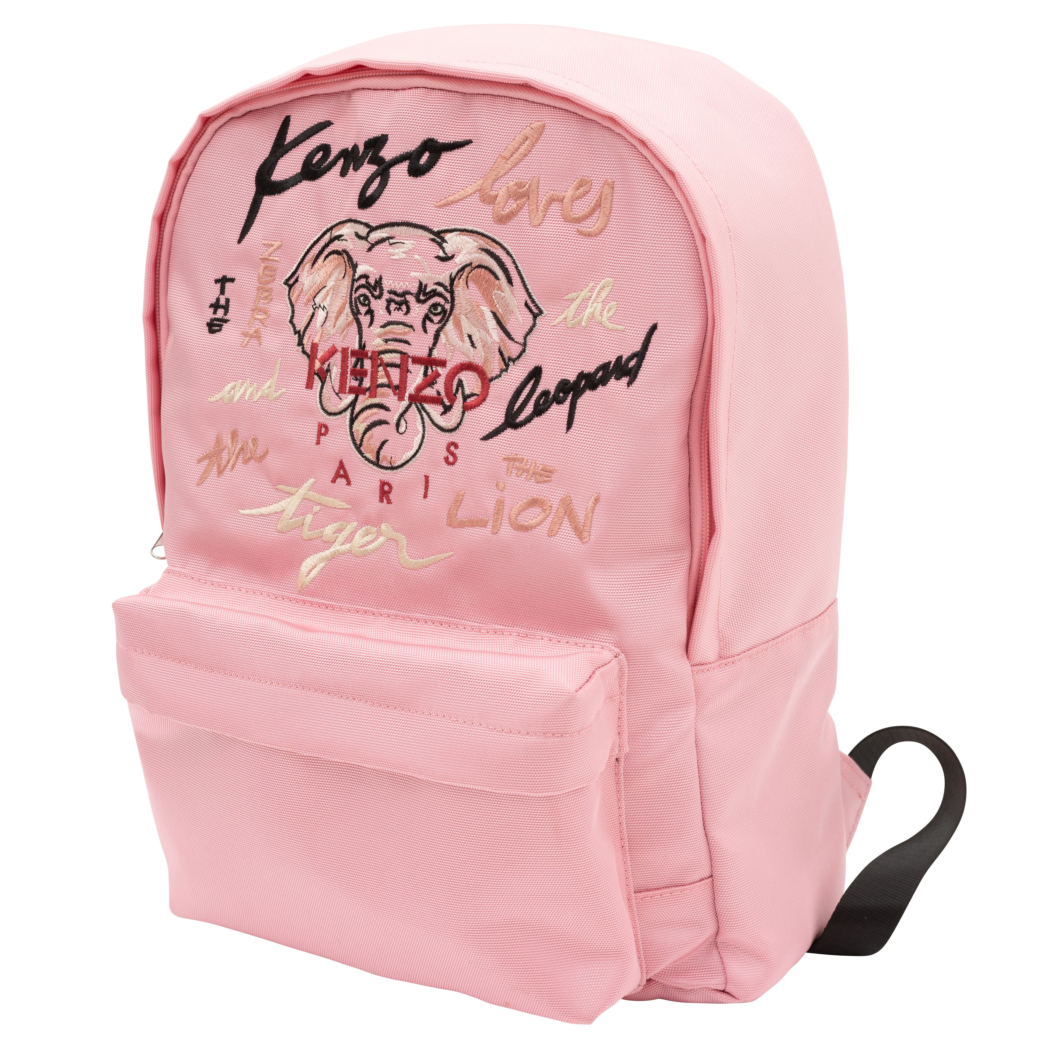 backpack with print KENZO KIDS for GIRL