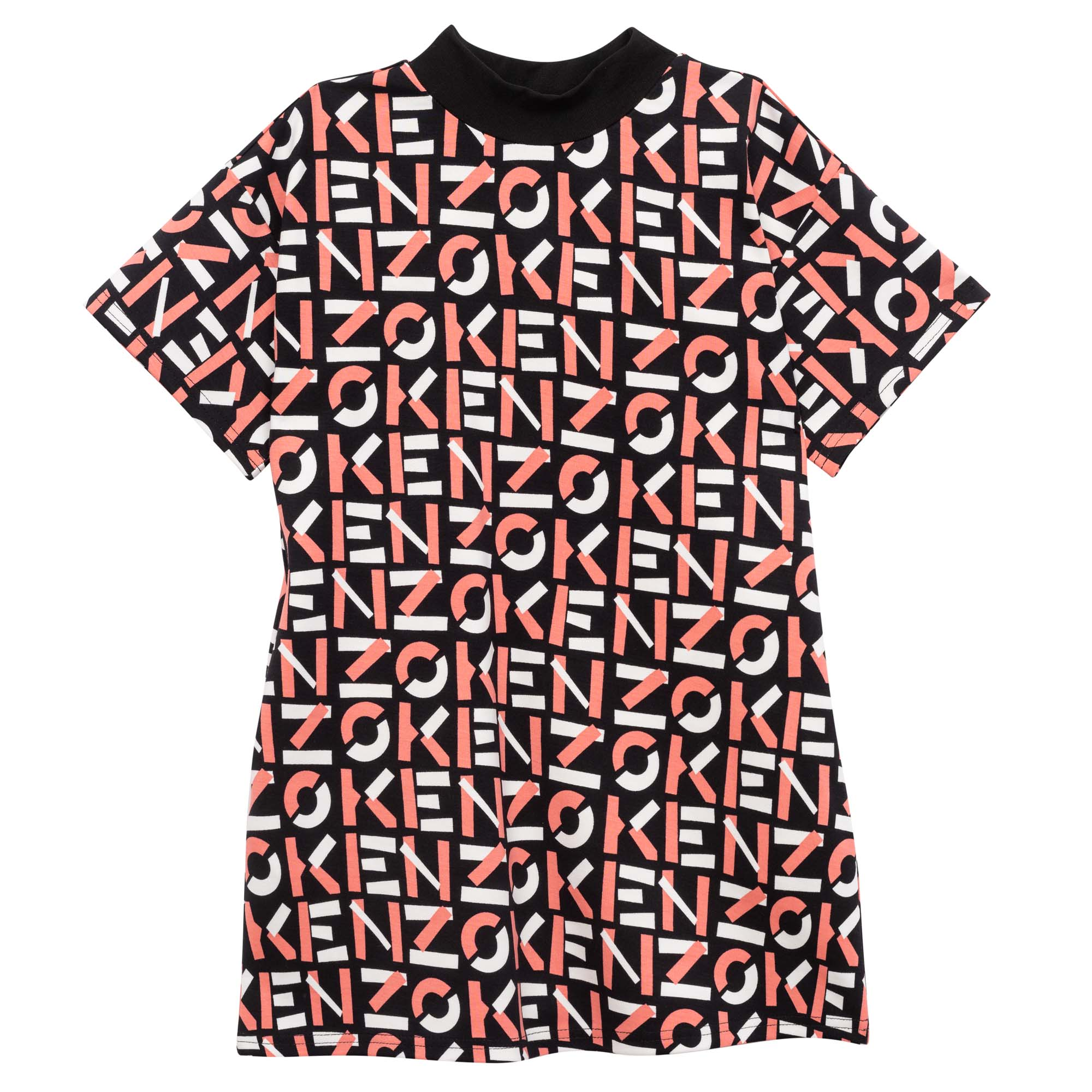Stretch Milano-knit dress KENZO KIDS for GIRL