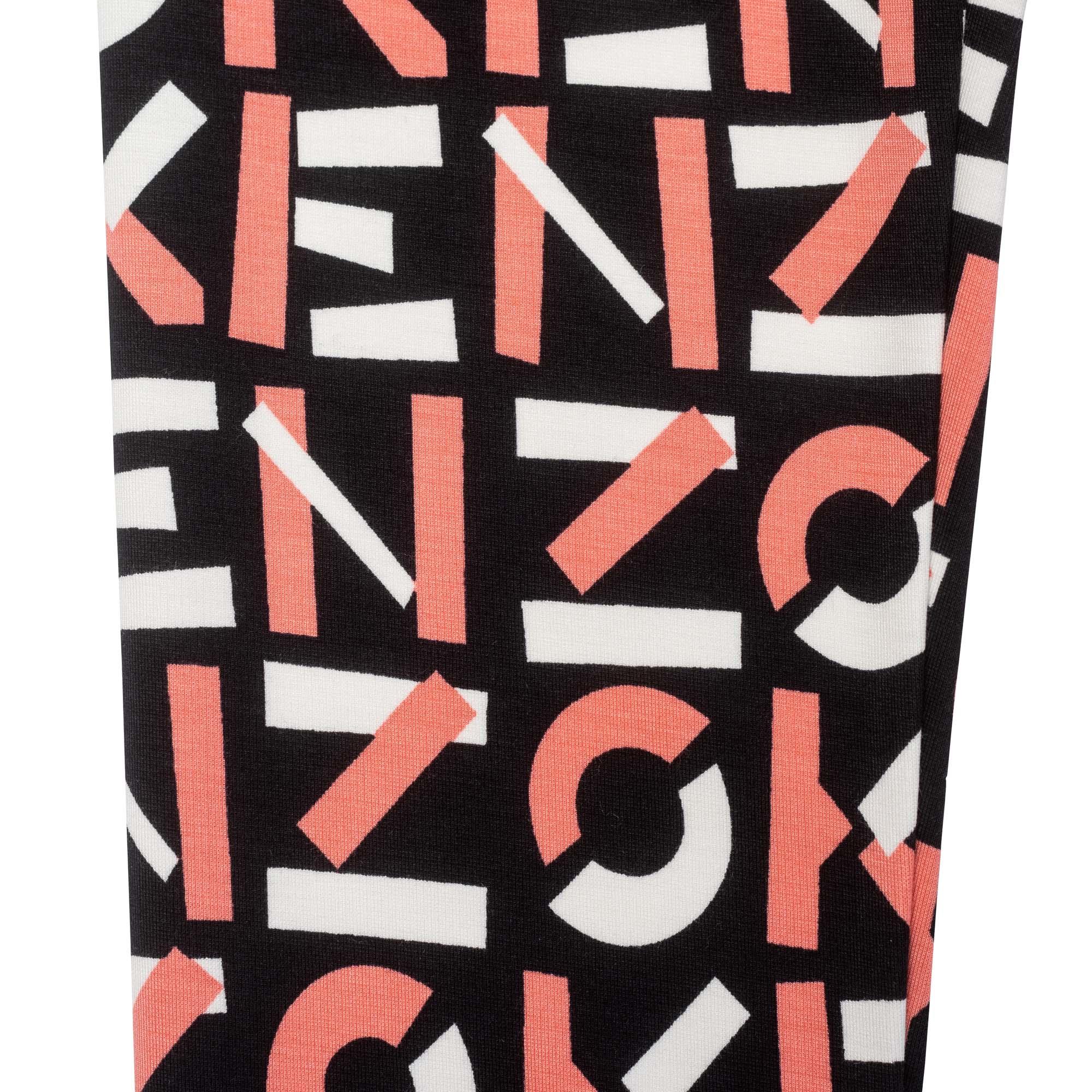 Legging imprimé maille KENZO KIDS pour FILLE