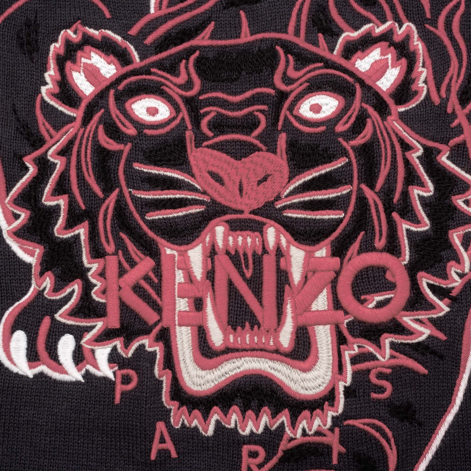 Printed cotton-cashmere sweater KENZO KIDS for GIRL