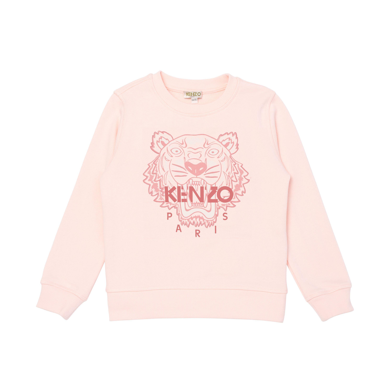 Cotton fleece sweatshirt KENZO KIDS for GIRL