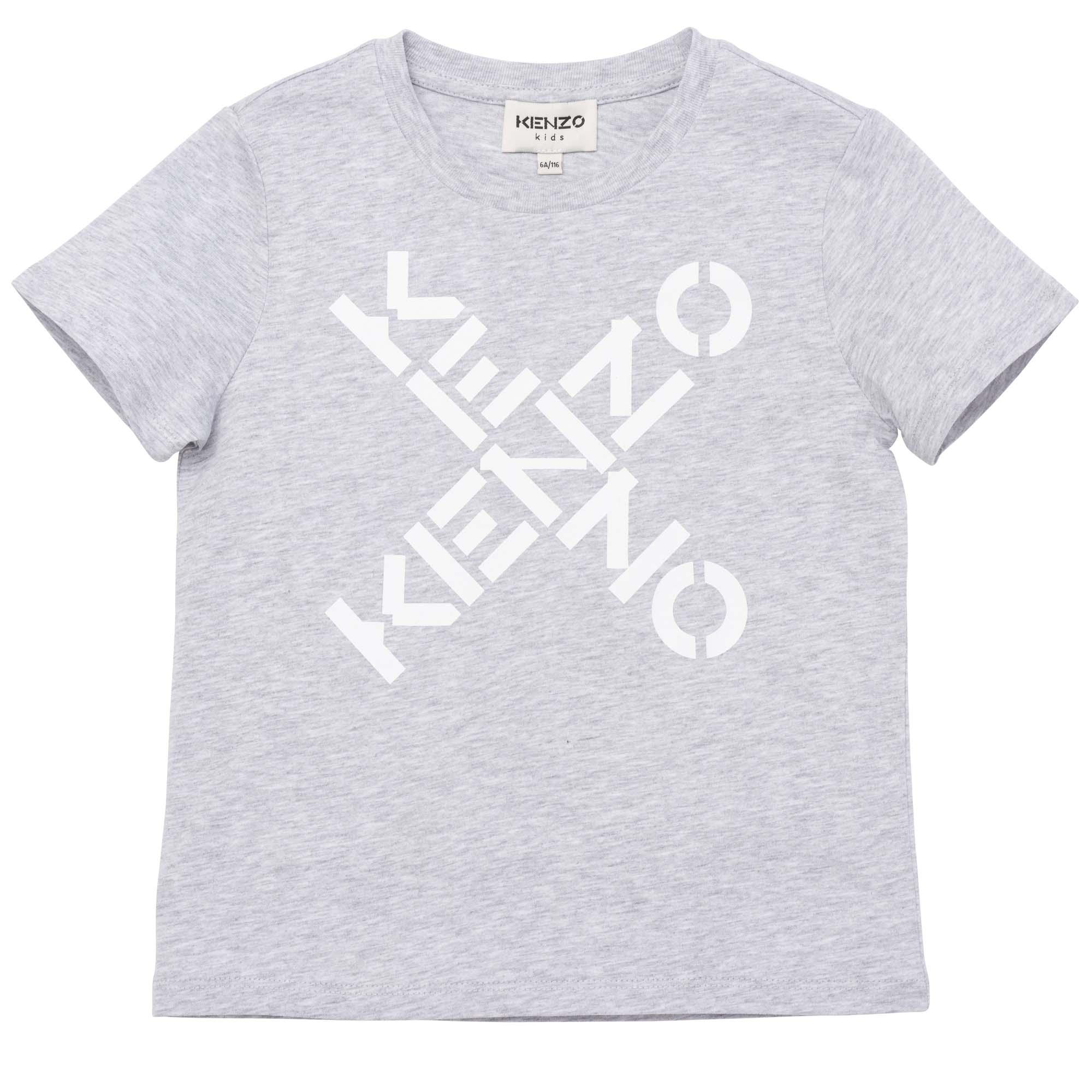 Short sleeved T-shirt KENZO KIDS for GIRL