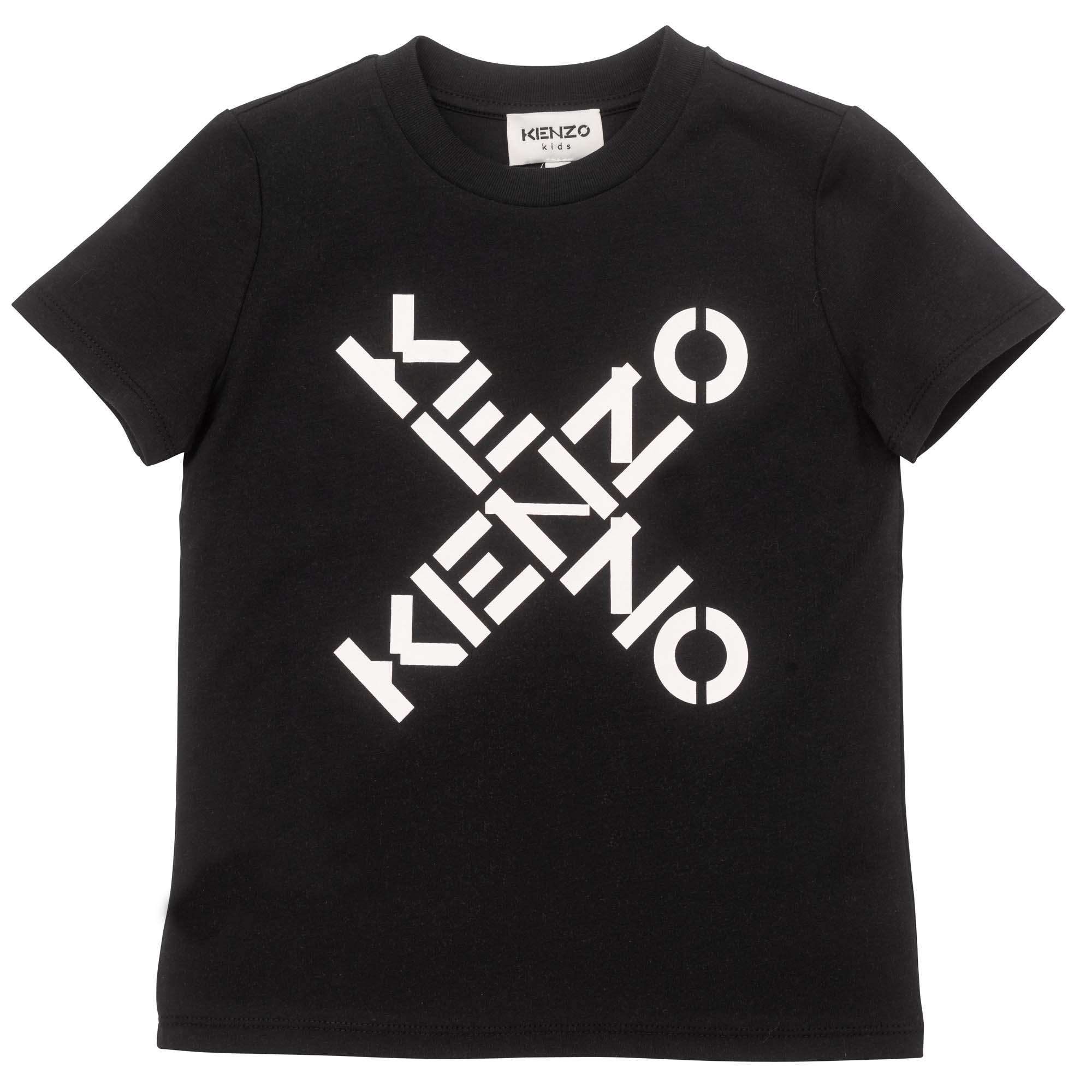 T-shirt à manches courtes KENZO KIDS pour FILLE