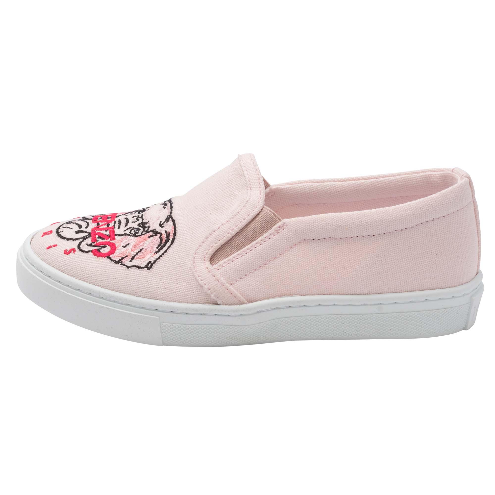 Chaussures en coton brodé KENZO KIDS pour FILLE