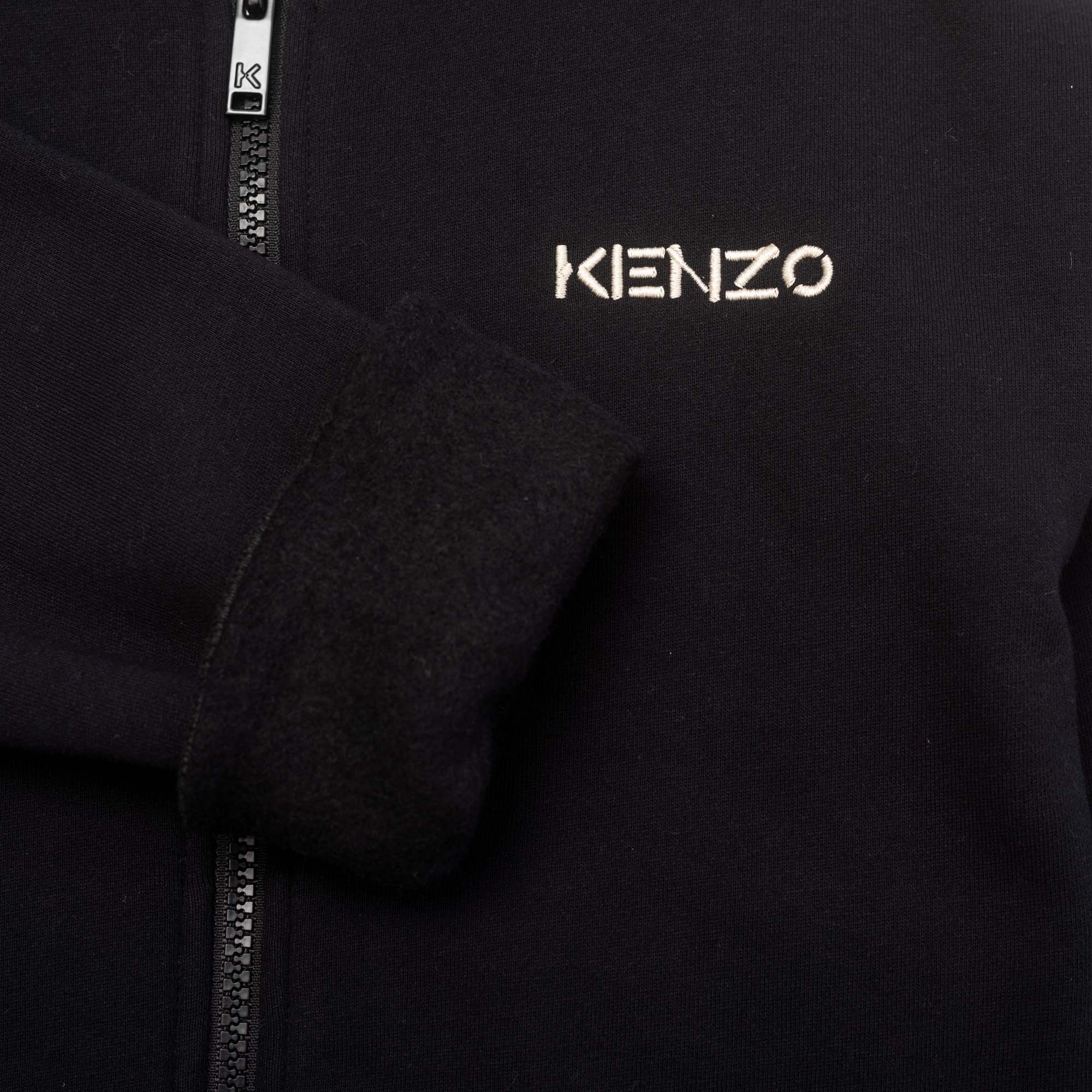 Loose sweater with varsity-style collar KENZO KIDS for BOY