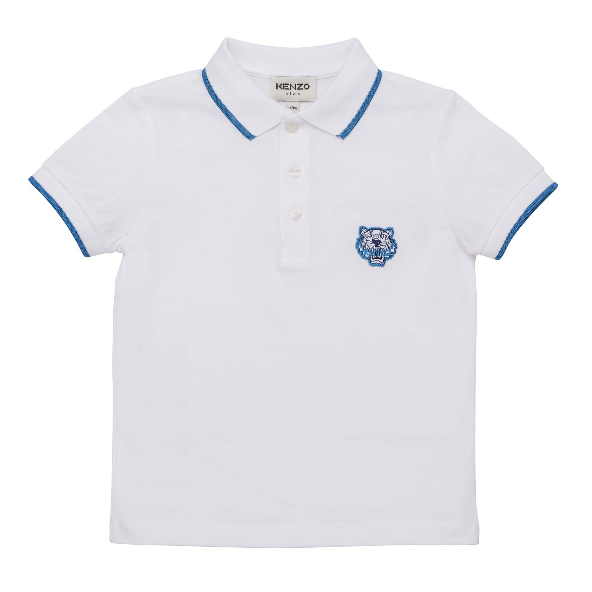 Short-sleeved polo shirt KENZO KIDS for BOY
