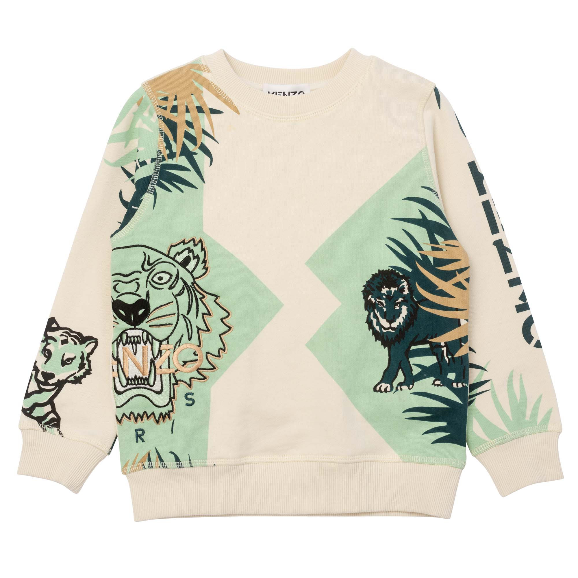 Iconic fleece sweatshirt KENZO KIDS for BOY