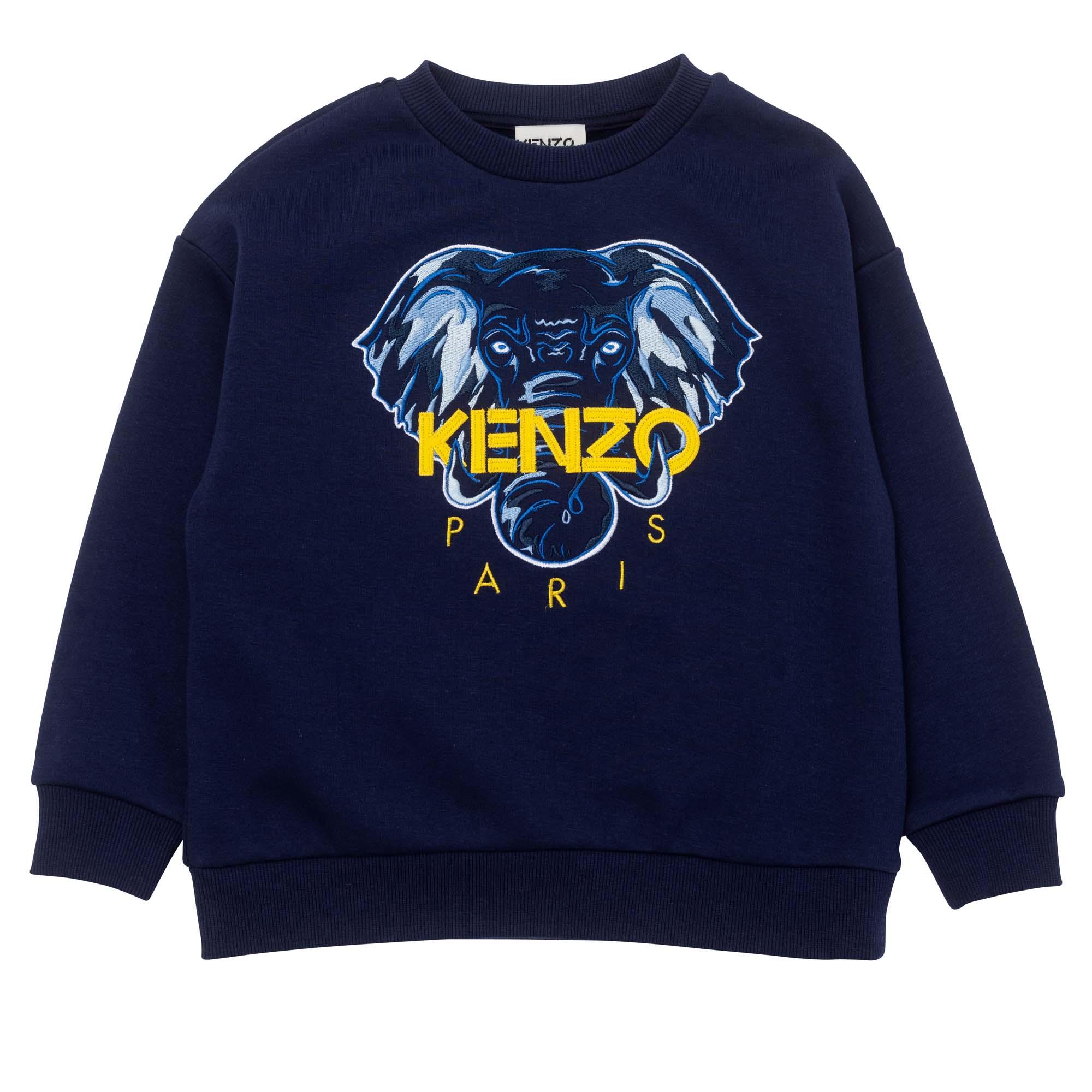 Loose-fit iconic sweatshirt KENZO KIDS for BOY