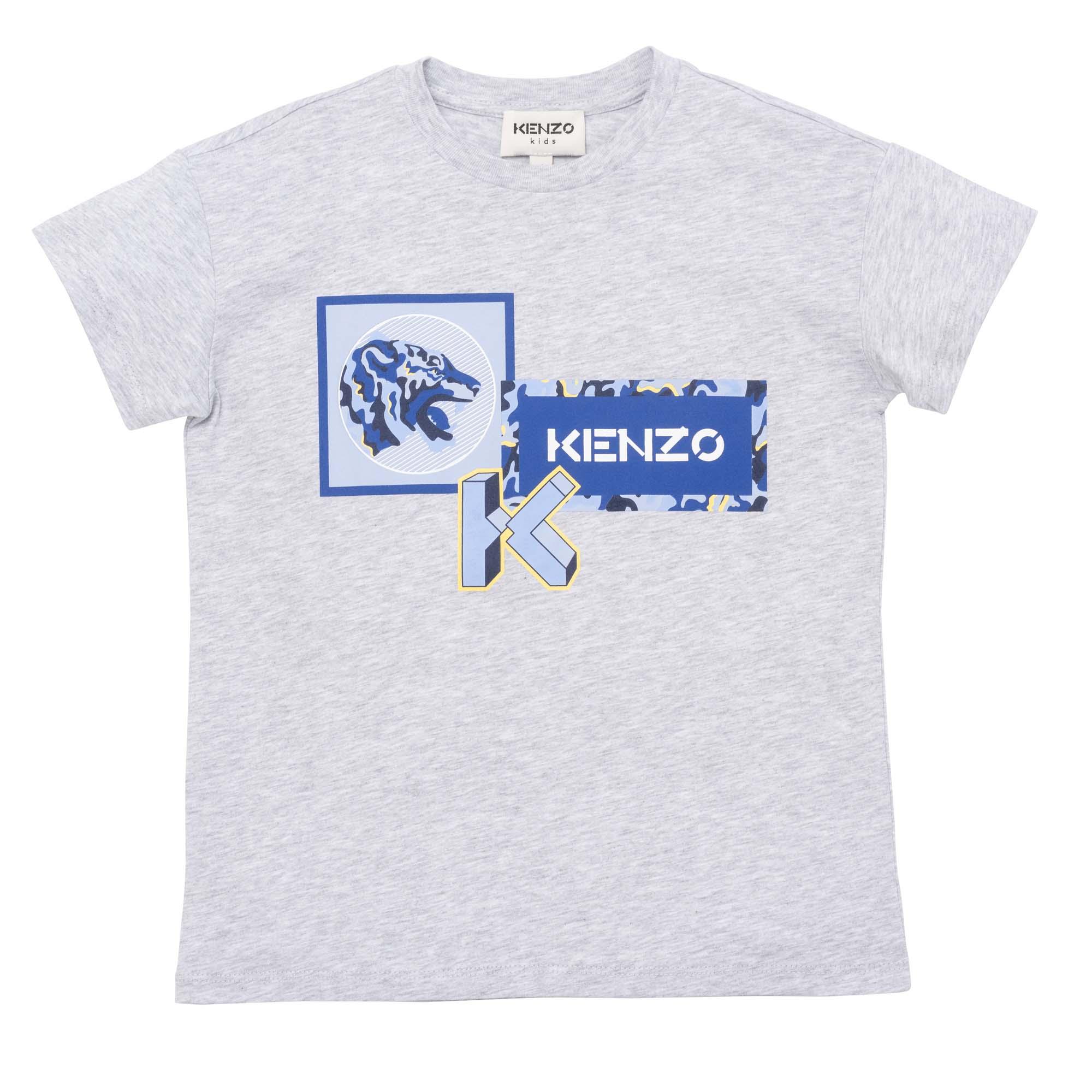 T-shirt loose KENZO KIDS pour GARCON