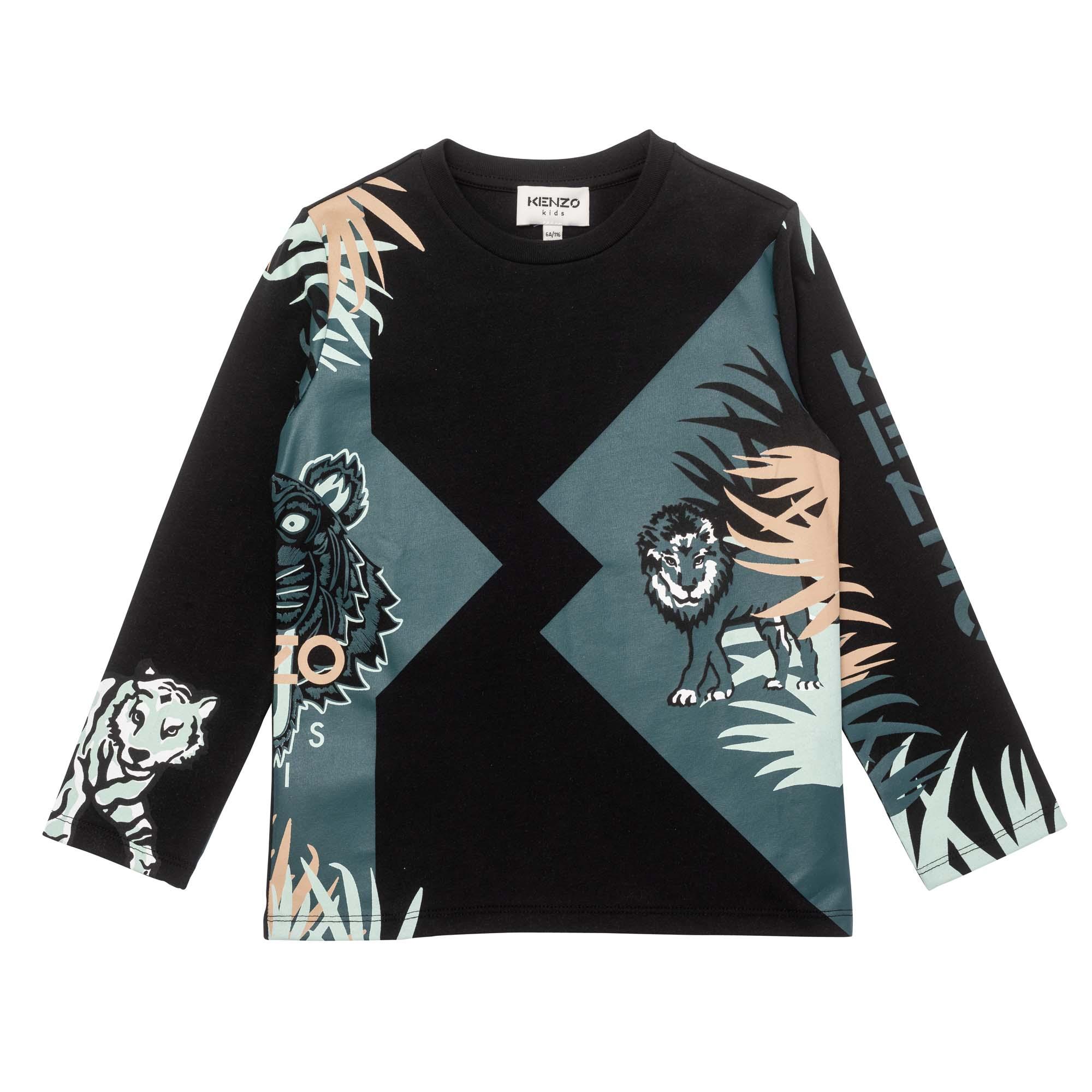 Long-sleeved T-shirt KENZO KIDS for BOY