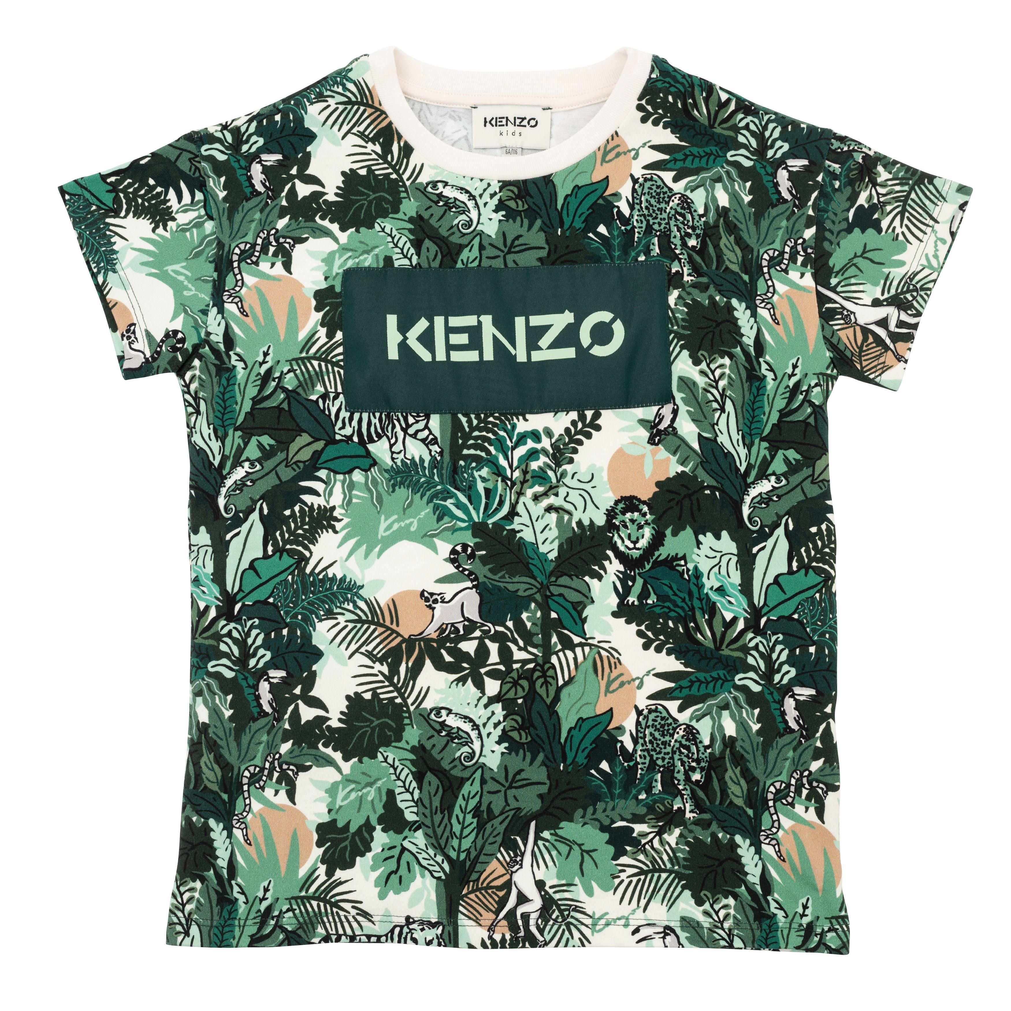 T-shirt loose skate KENZO KIDS pour GARCON