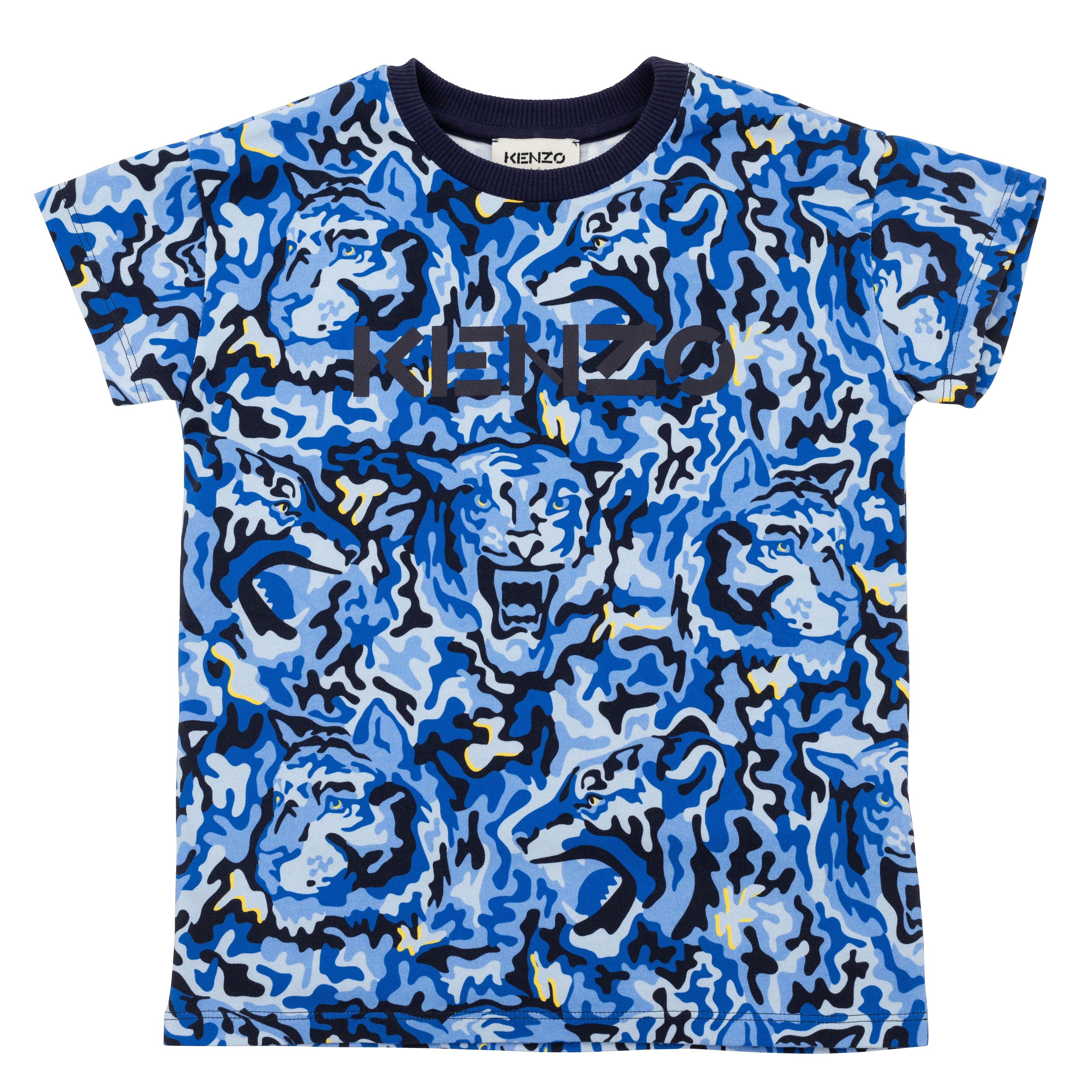 T-shirt à manches courtes KENZO KIDS pour GARCON