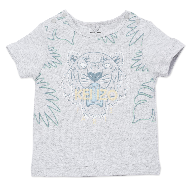 T-shirt en coton biologique KENZO KIDS pour GARCON