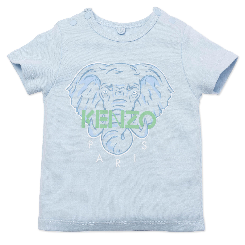 Elephant print T-shirt KENZO KIDS for BOY