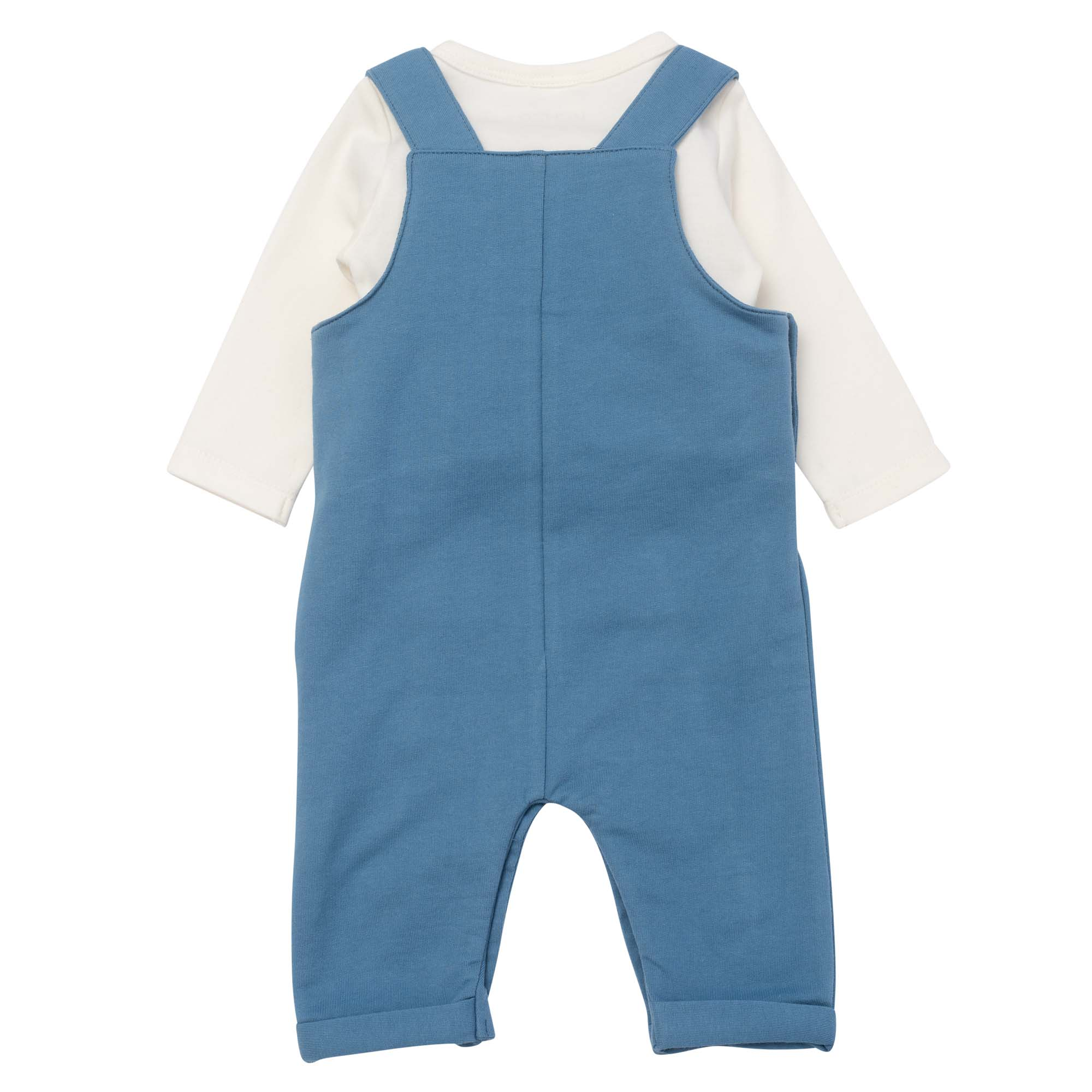 Cotton overalls and T-shirt KENZO KIDS for BOY