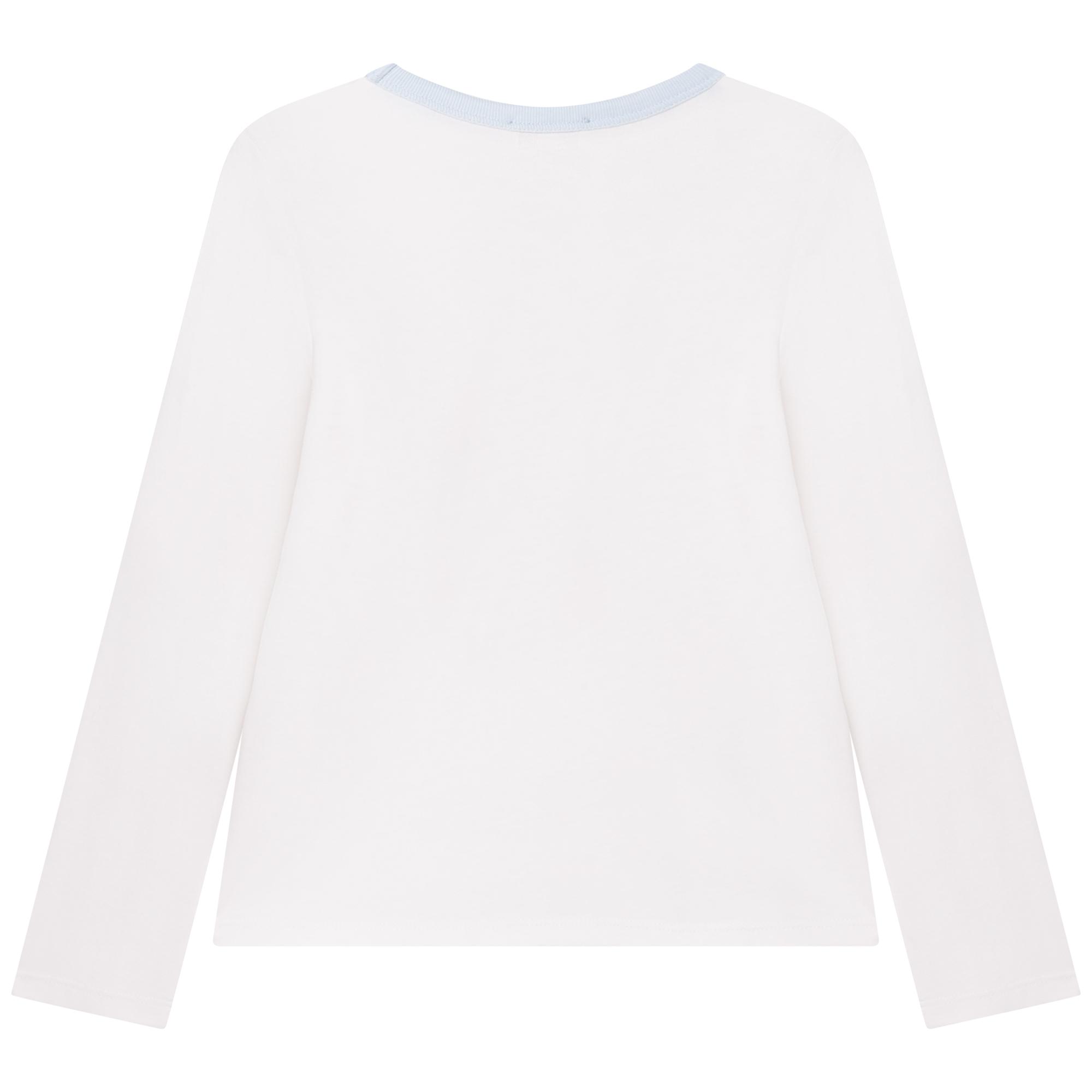 T-shirt jersey coton et modal LANVIN pour FILLE