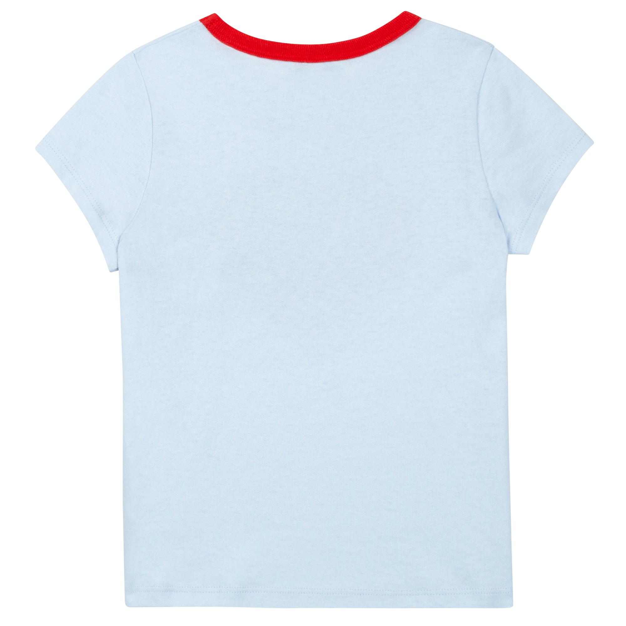T-shirt en jersey de coton LANVIN pour FILLE