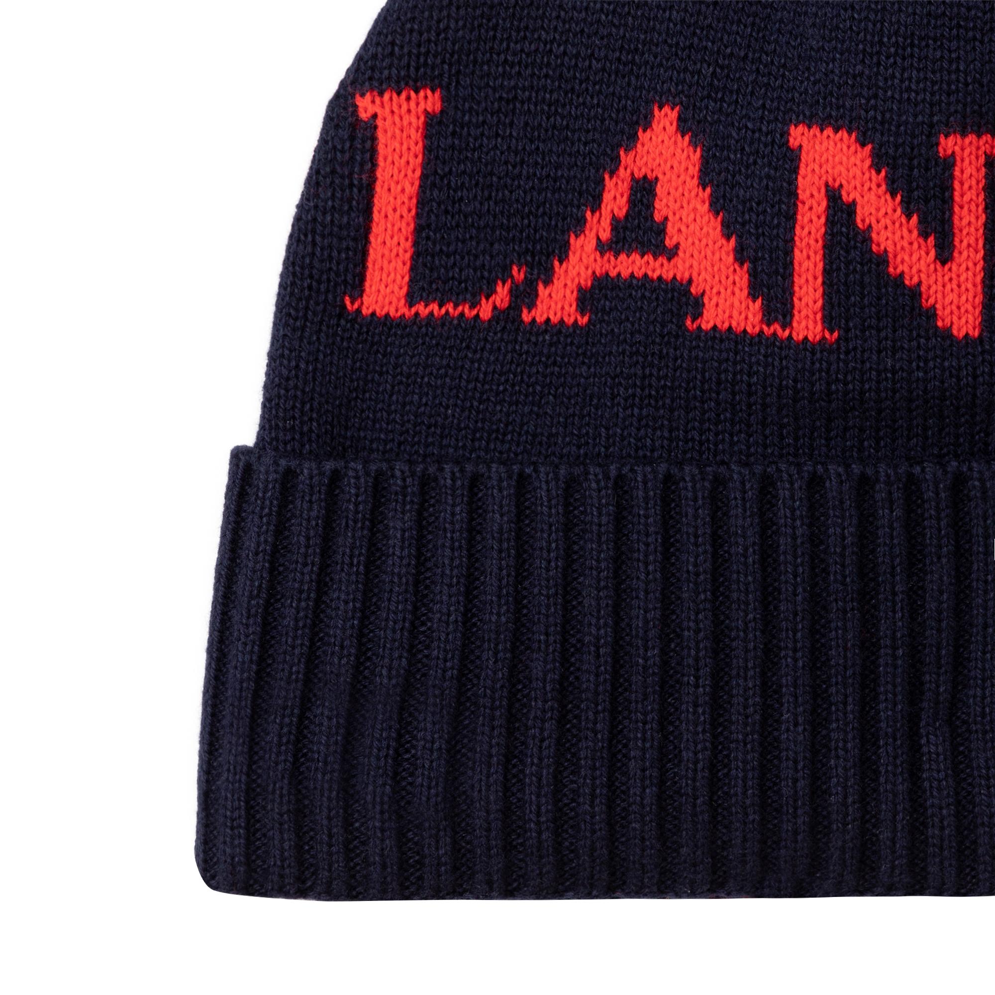 Bonnet tricoté coton et laine LANVIN pour GARCON