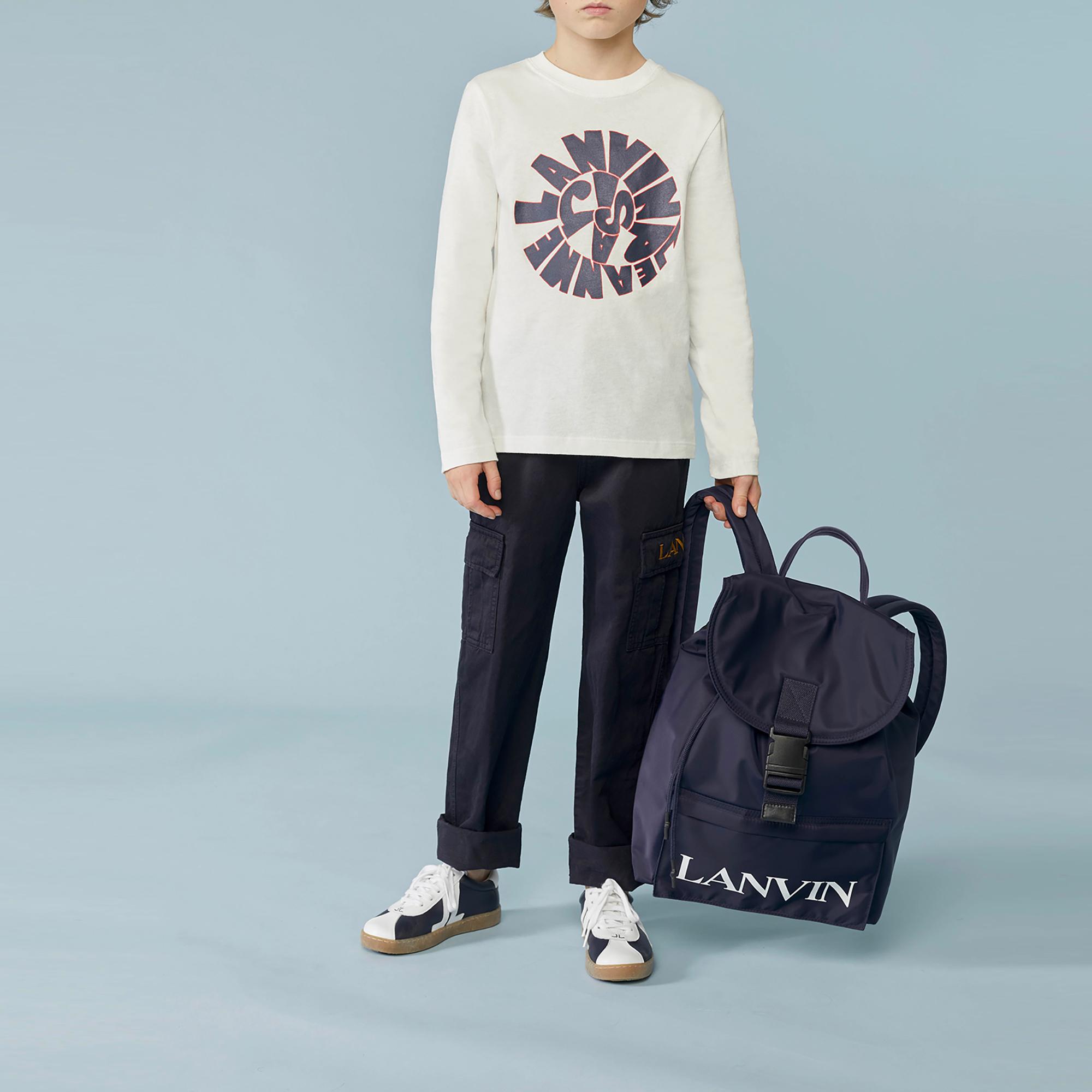 Pantalon en coton et lin LANVIN pour GARCON