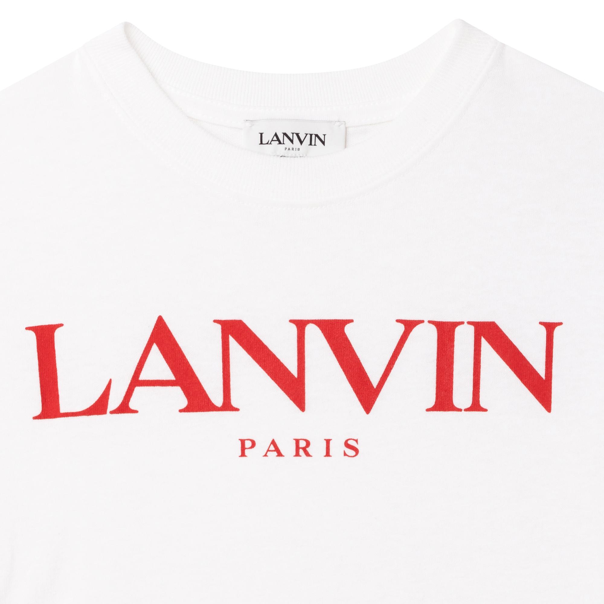 T-shirt manches courtes jersey LANVIN pour GARCON