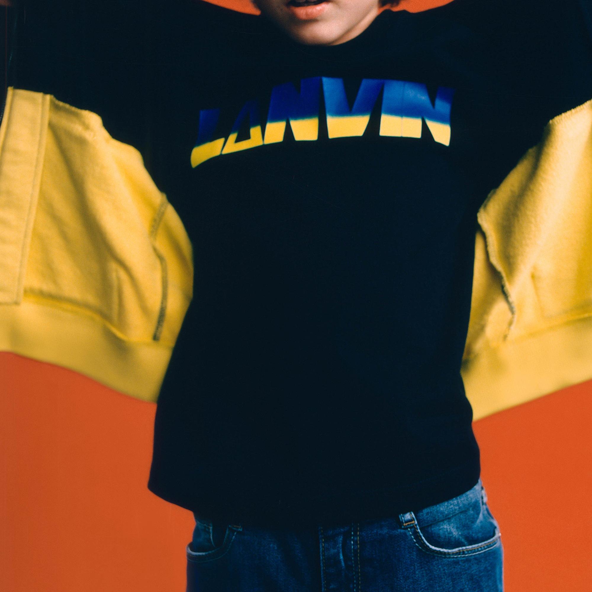 T-shirt manches longues jersey LANVIN pour GARCON