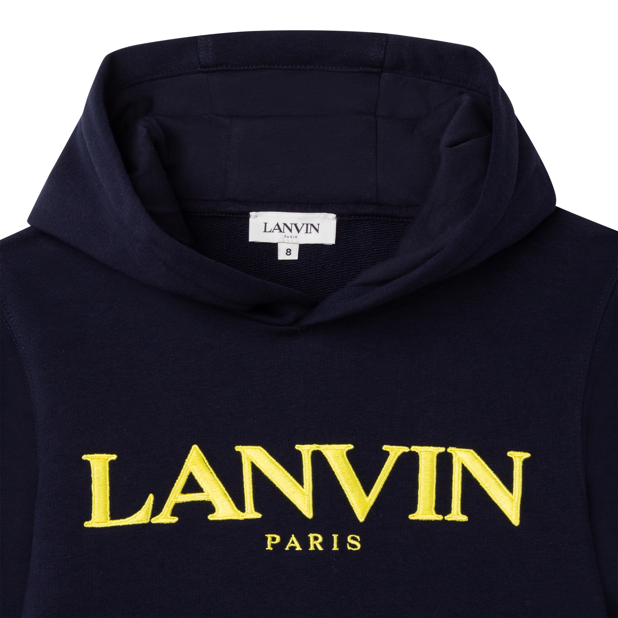 Sweat à capuche en molleton LANVIN pour GARCON