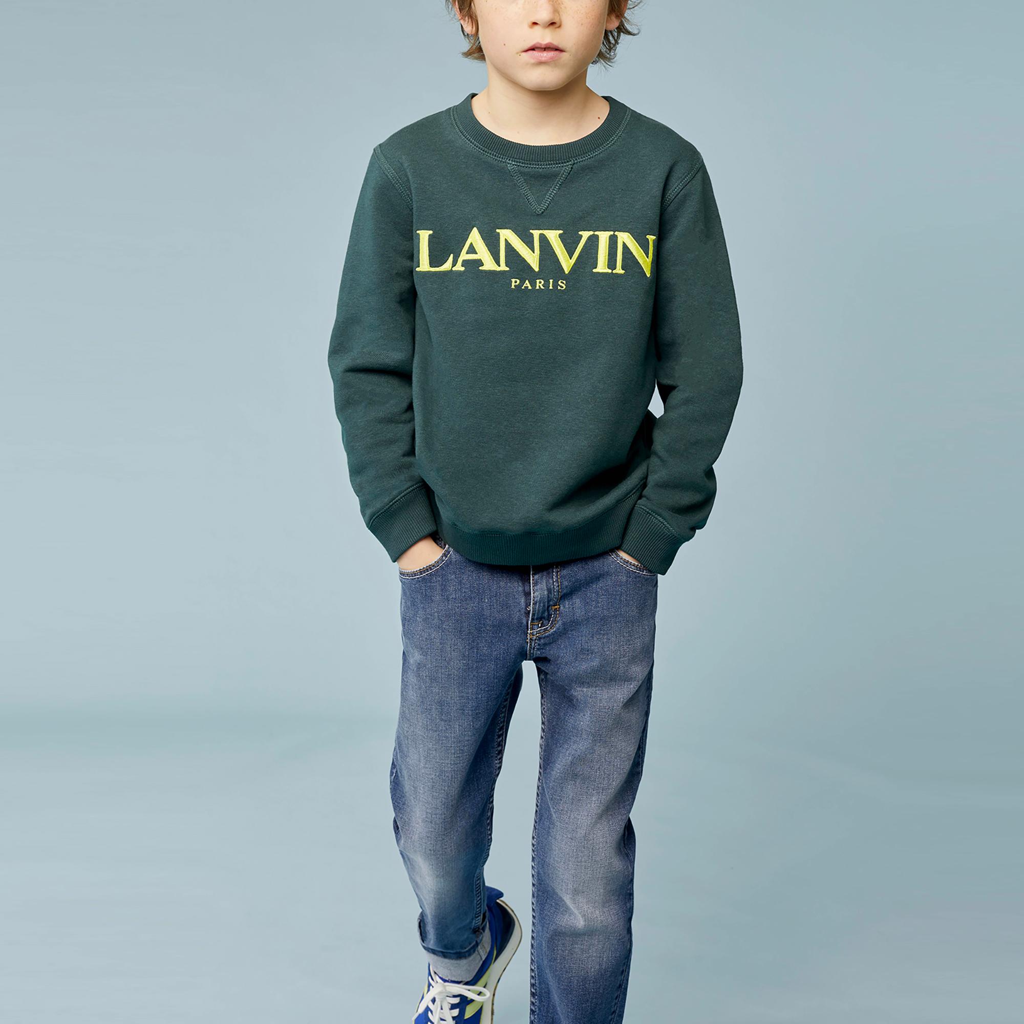Fleece sweatshirt LANVIN for BOY