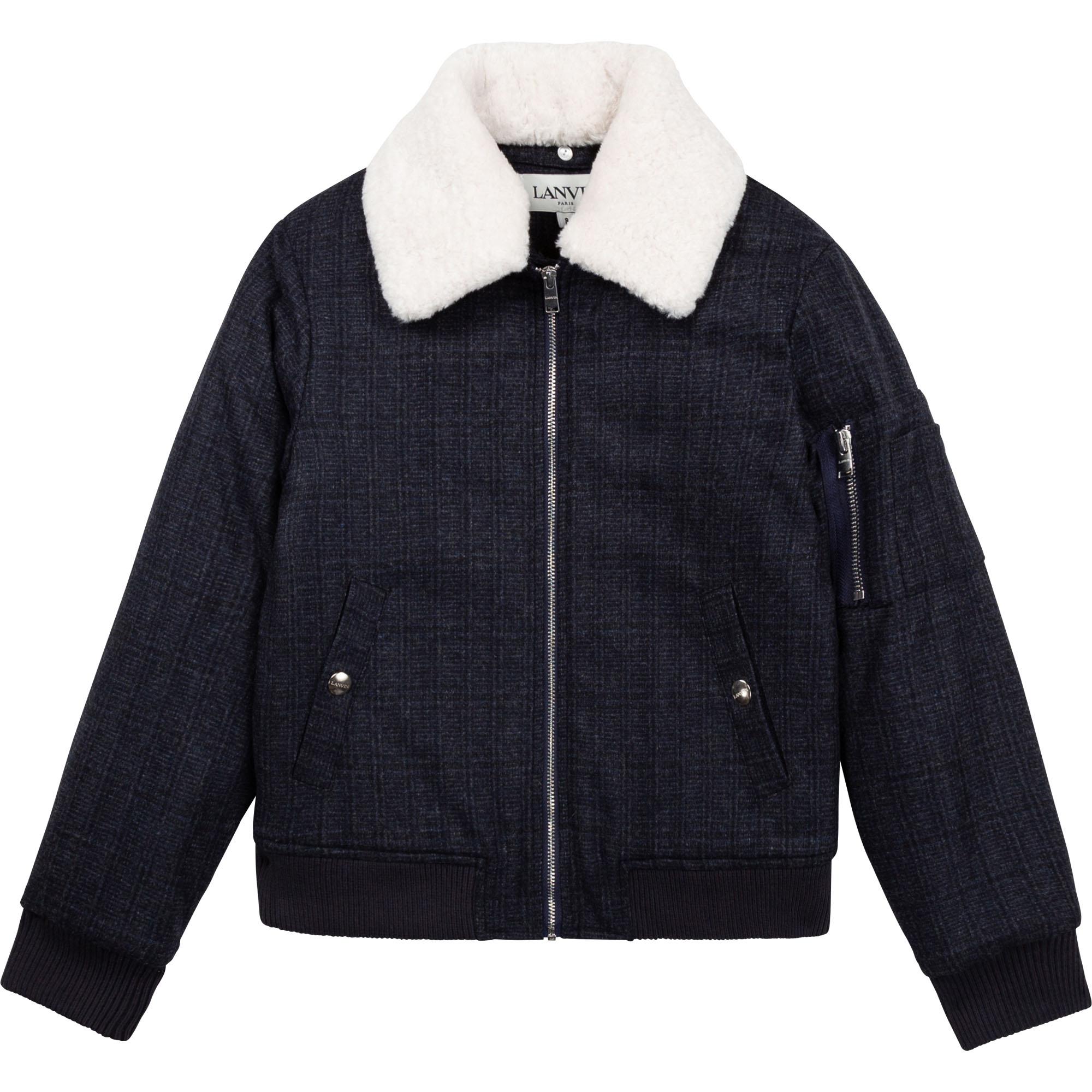 Wool blend jacket LANVIN for BOY