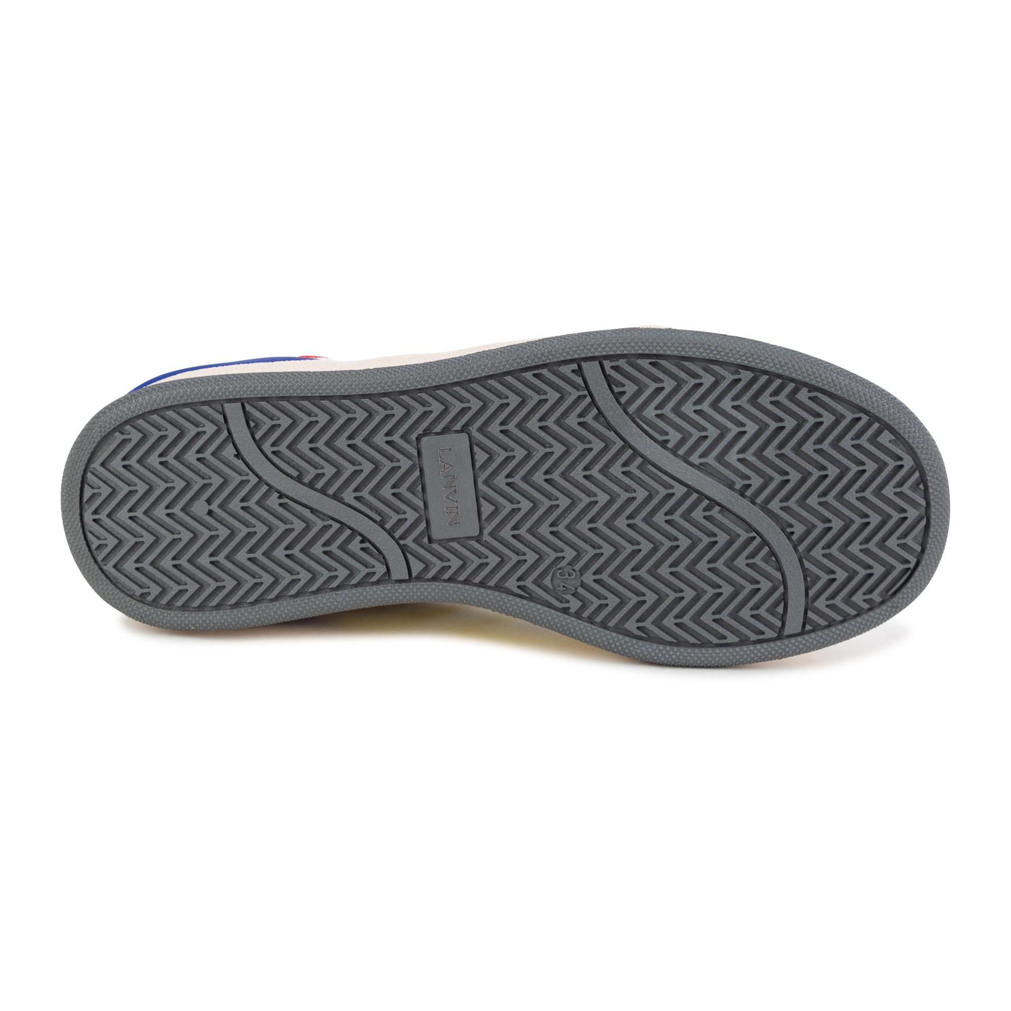 Sneakers en cuir à lacets LANVIN pour GARCON