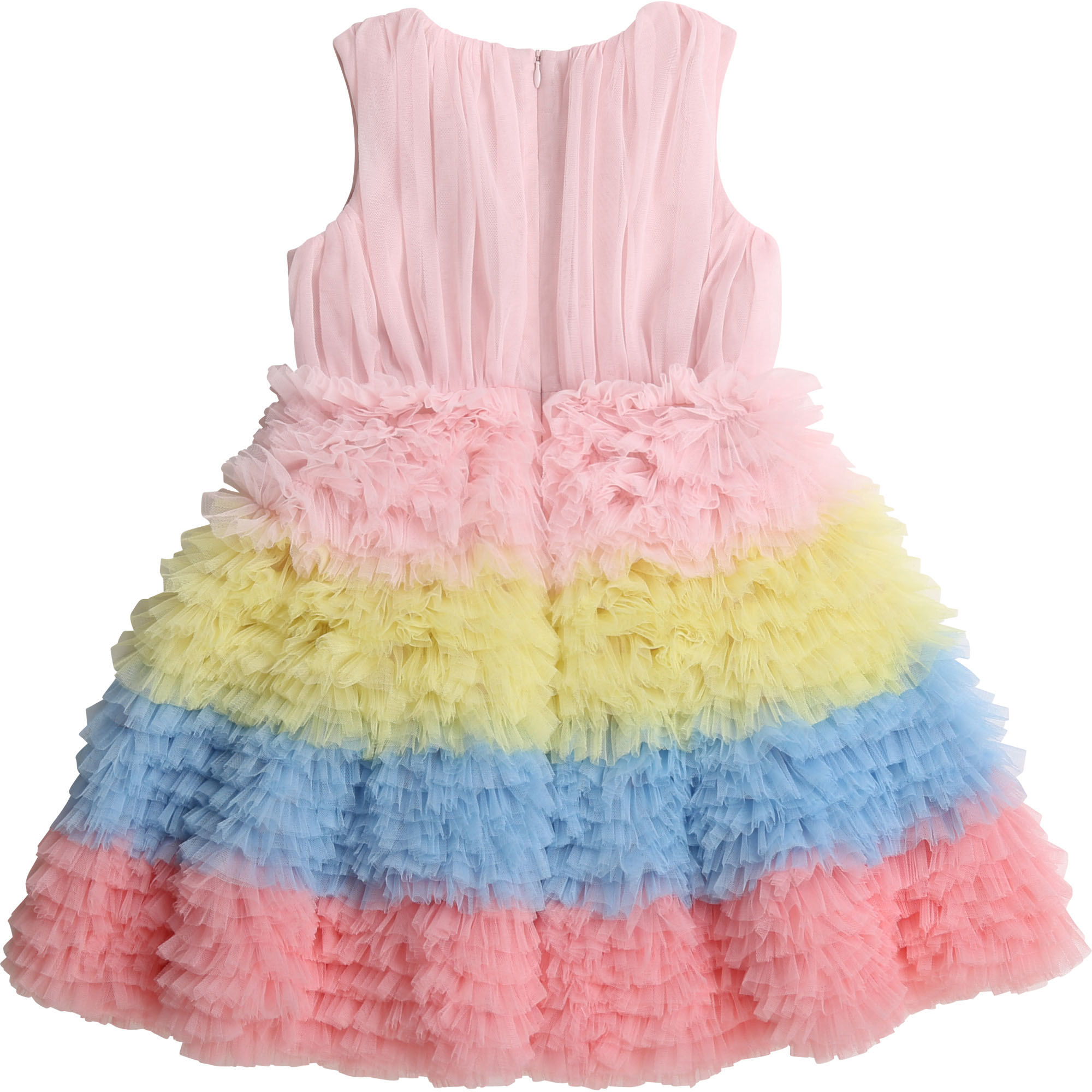 Robe en tulle multicolore CHARABIA pour FILLE