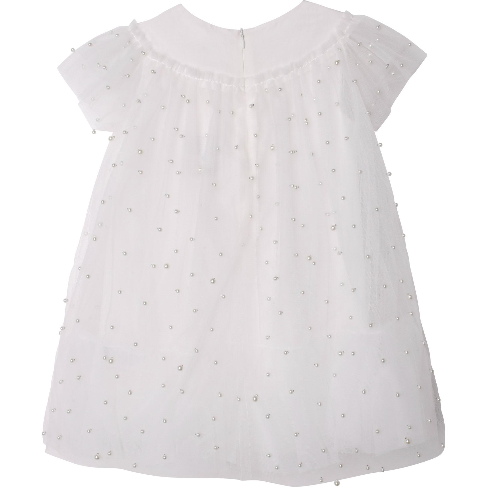 Beaded tulle dress CHARABIA for GIRL