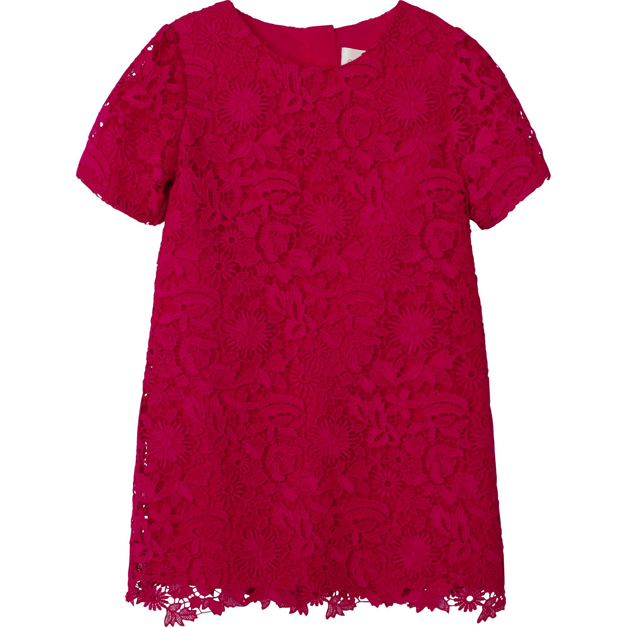 Robe en guipure à fleurs CHARABIA pour FILLE