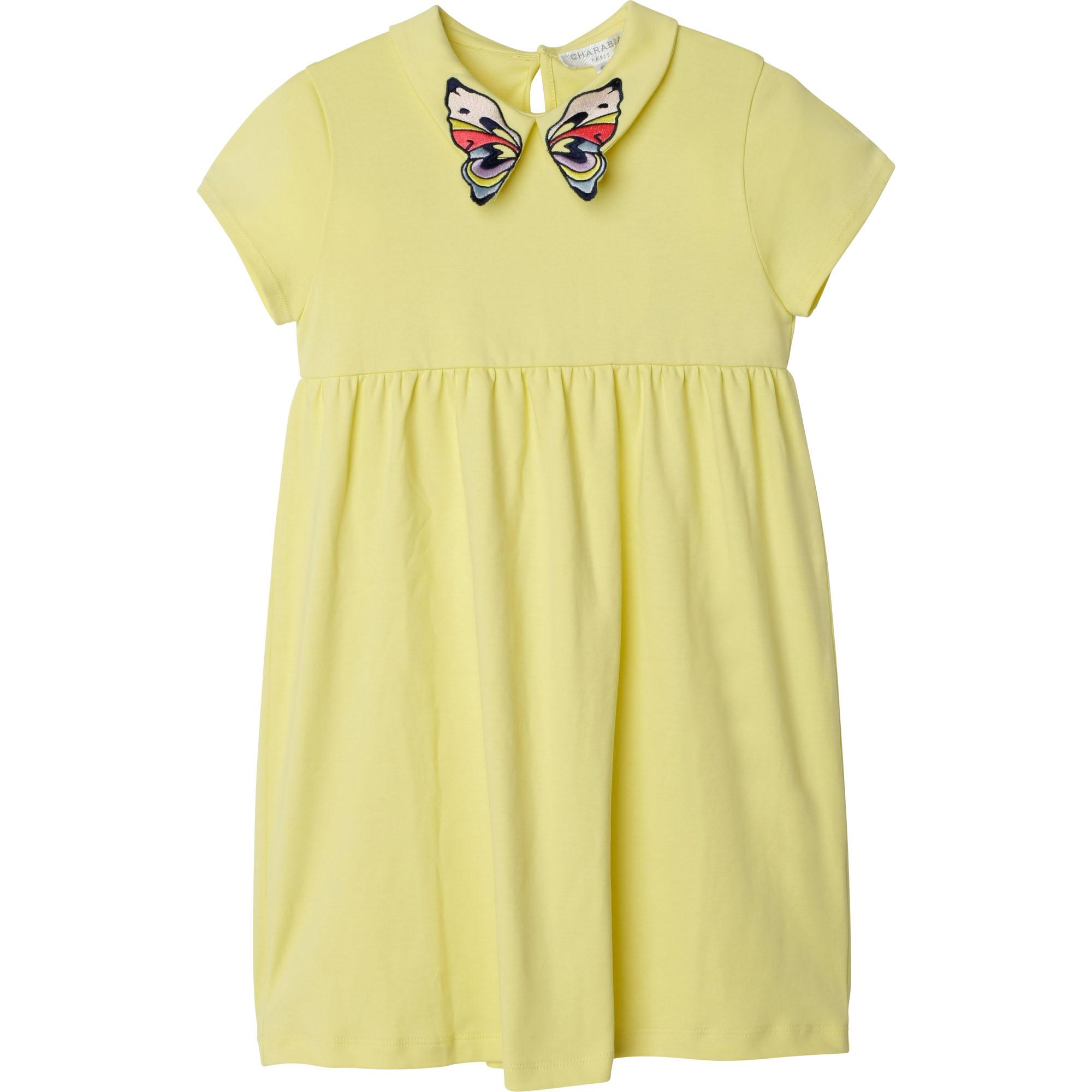 Cotton interlock dress CHARABIA for GIRL