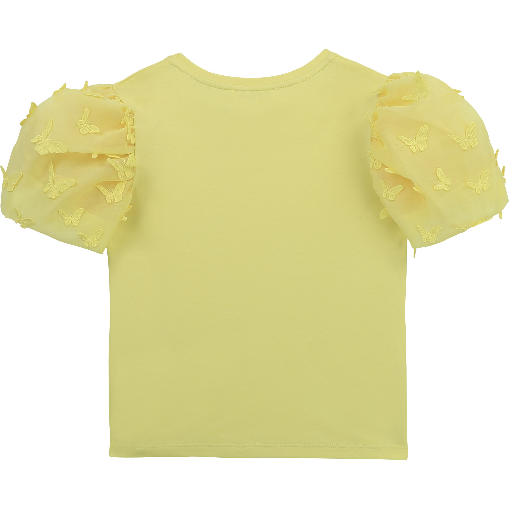 T-shirt with organza sleeves CHARABIA for GIRL