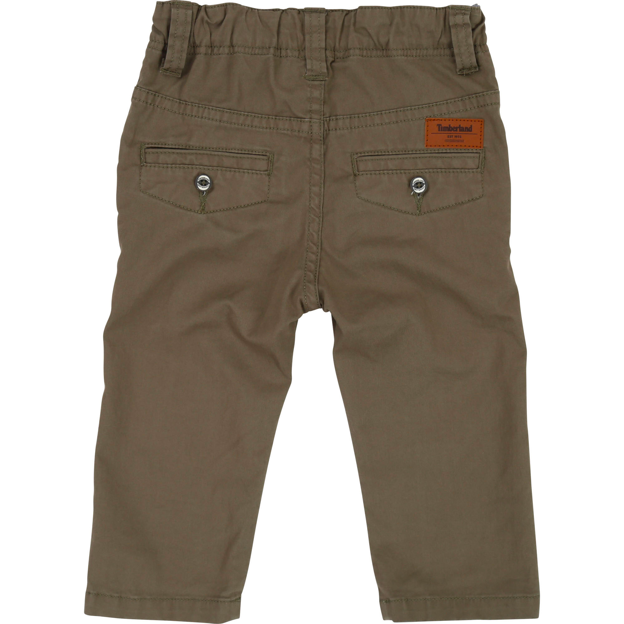 Slim-fit twill trousers TIMBERLAND for BOY