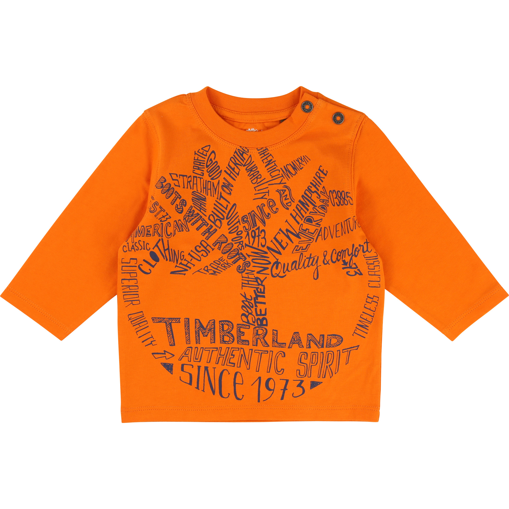 LONG SLEEVE T-SHIRT TIMBERLAND for BOY