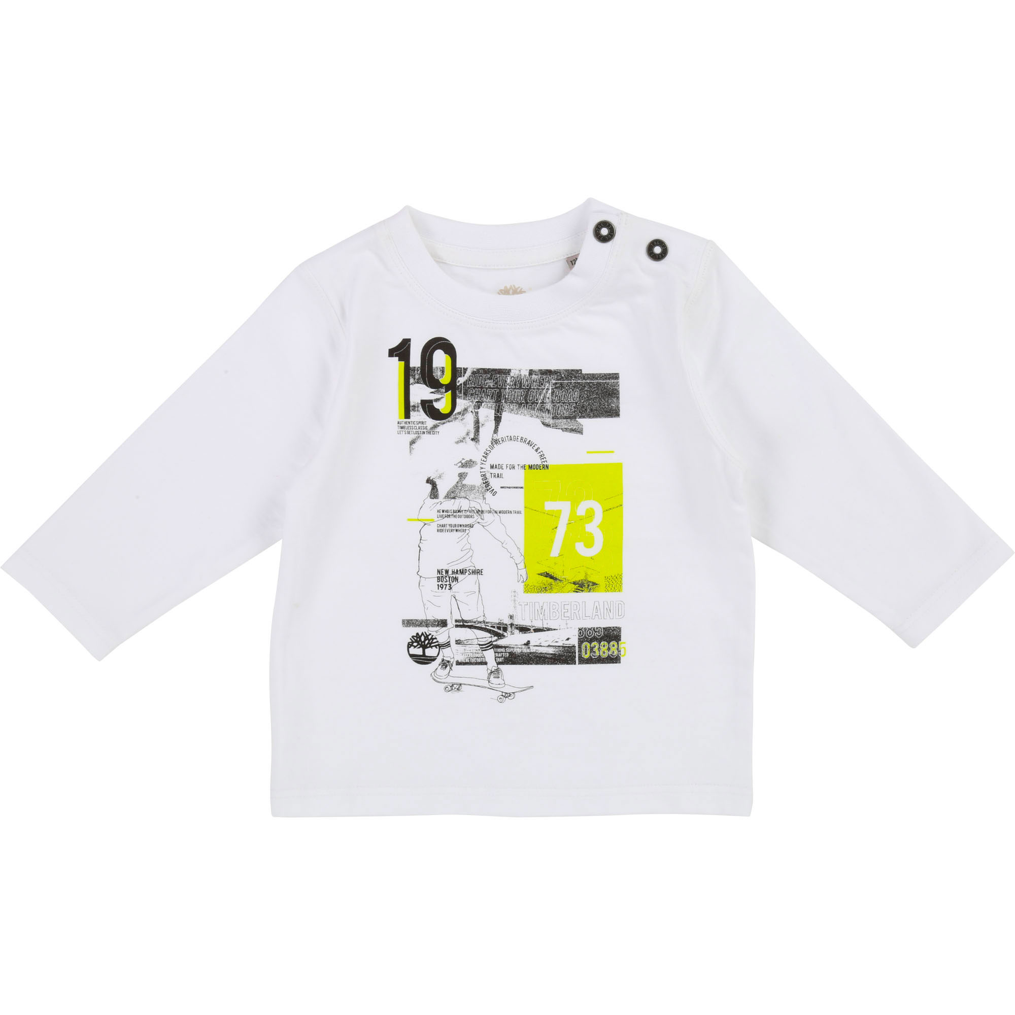 Screen-printed image T-shirt TIMBERLAND for BOY