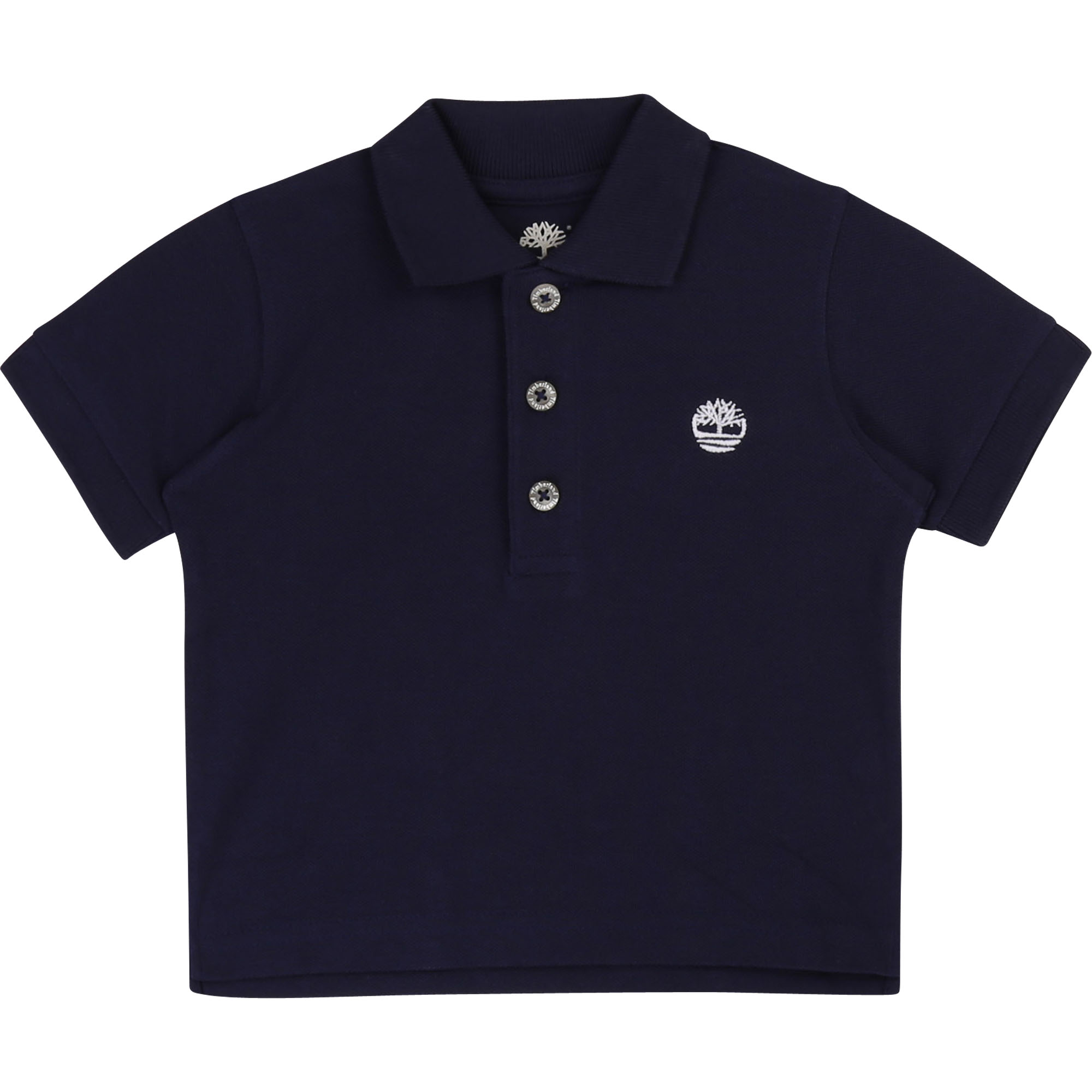 Plain organic cotton polo TIMBERLAND for BOY